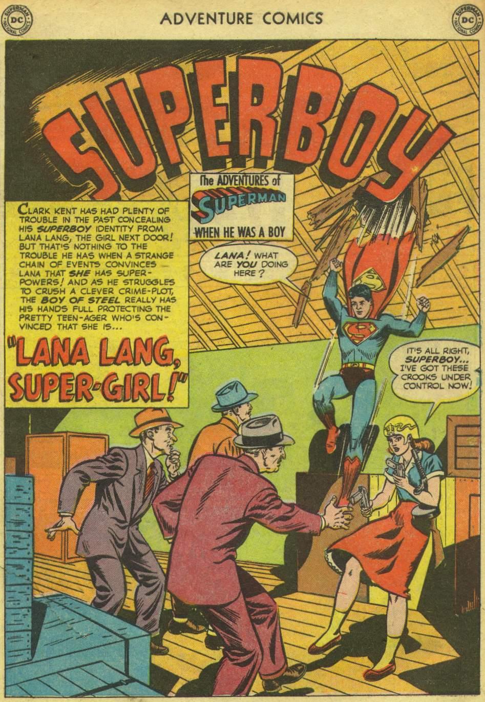 Read online Adventure Comics (1938) comic -  Issue #167 - 3