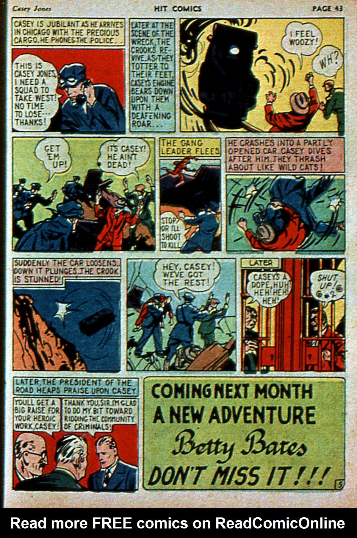Read online Hit Comics comic -  Issue #3 - 45