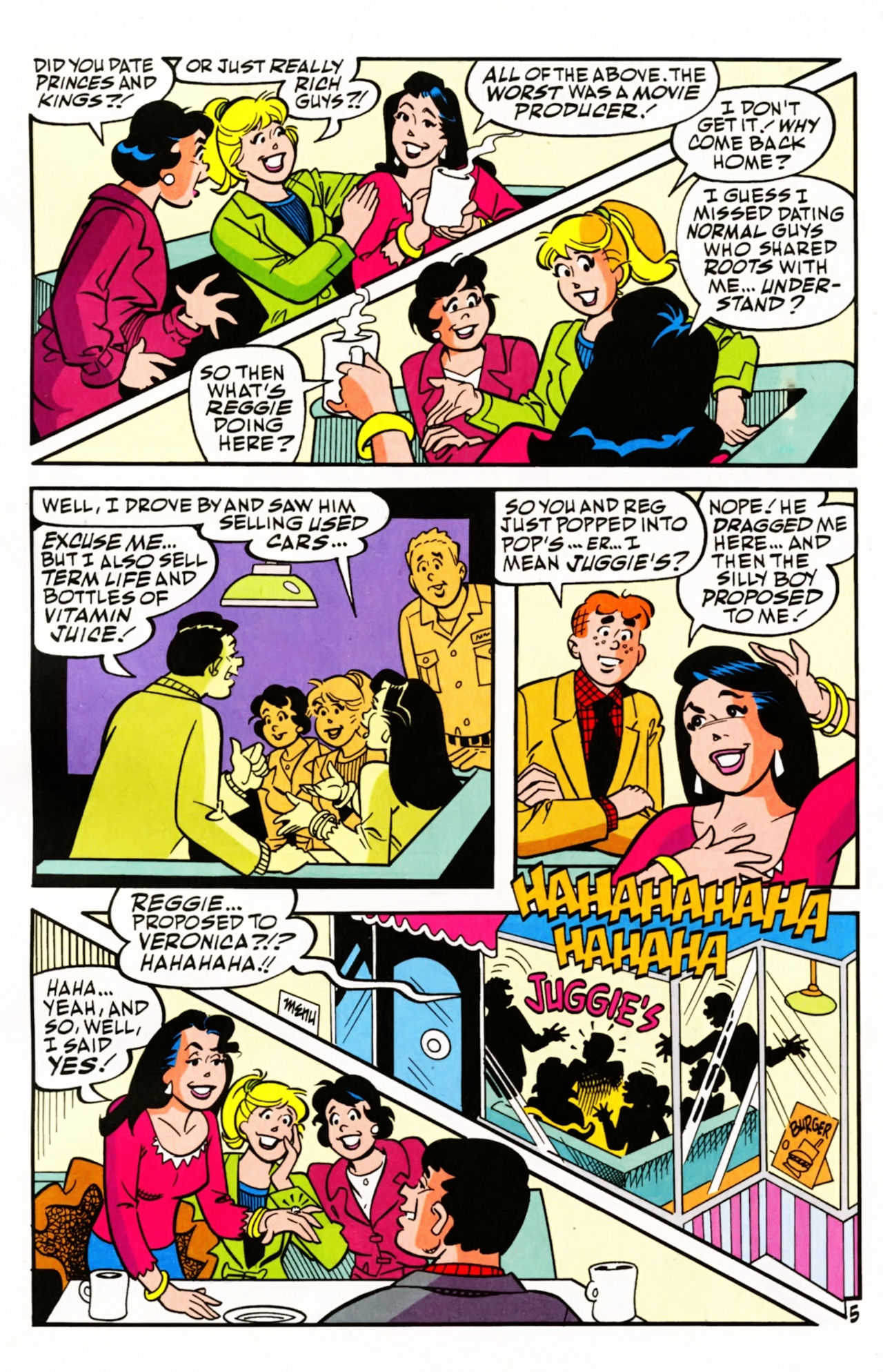 Read online Archie (1960) comic -  Issue #605 - 8