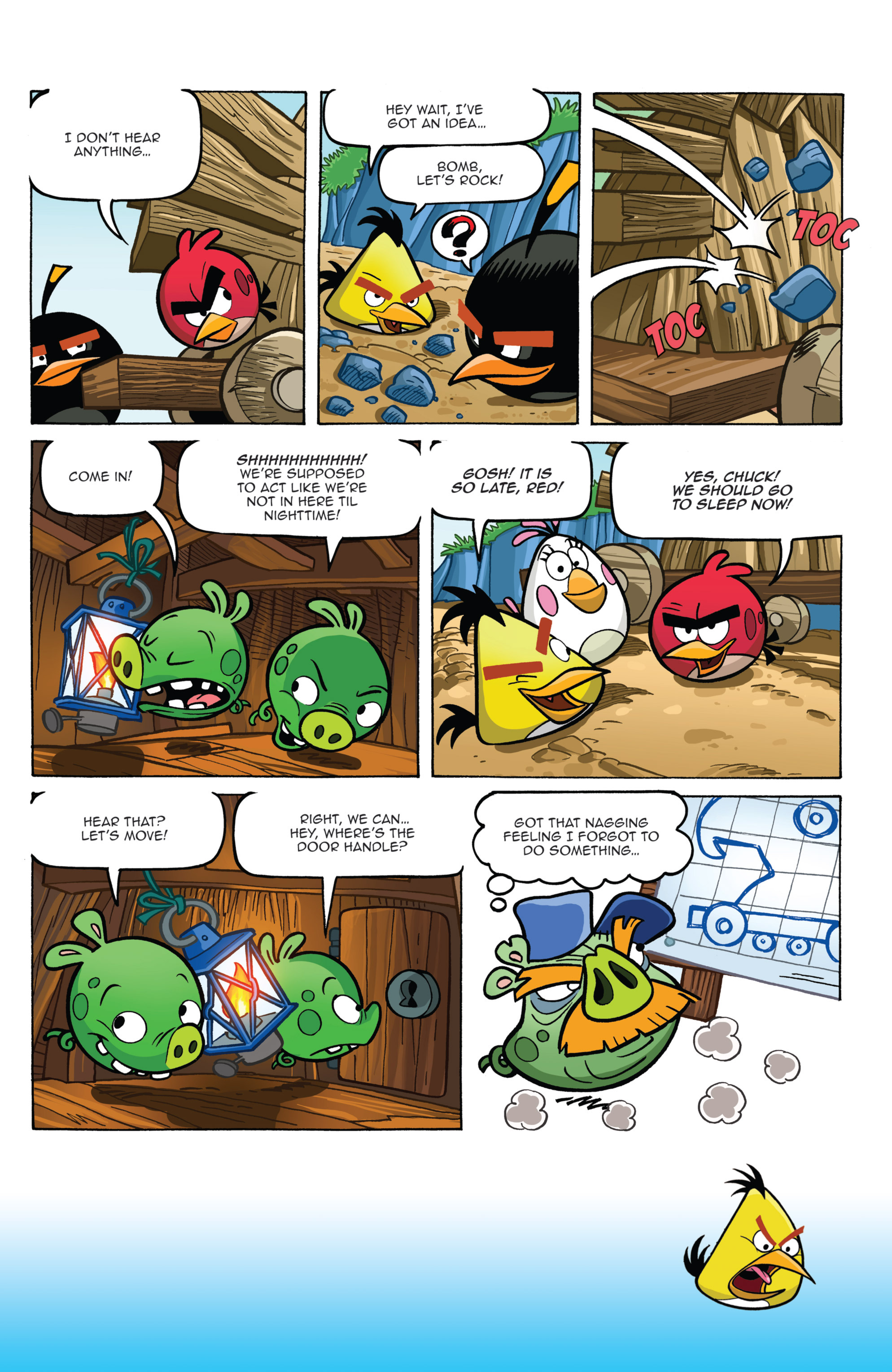 Read online Angry Birds Comics (2014) comic -  Issue #2 - 12