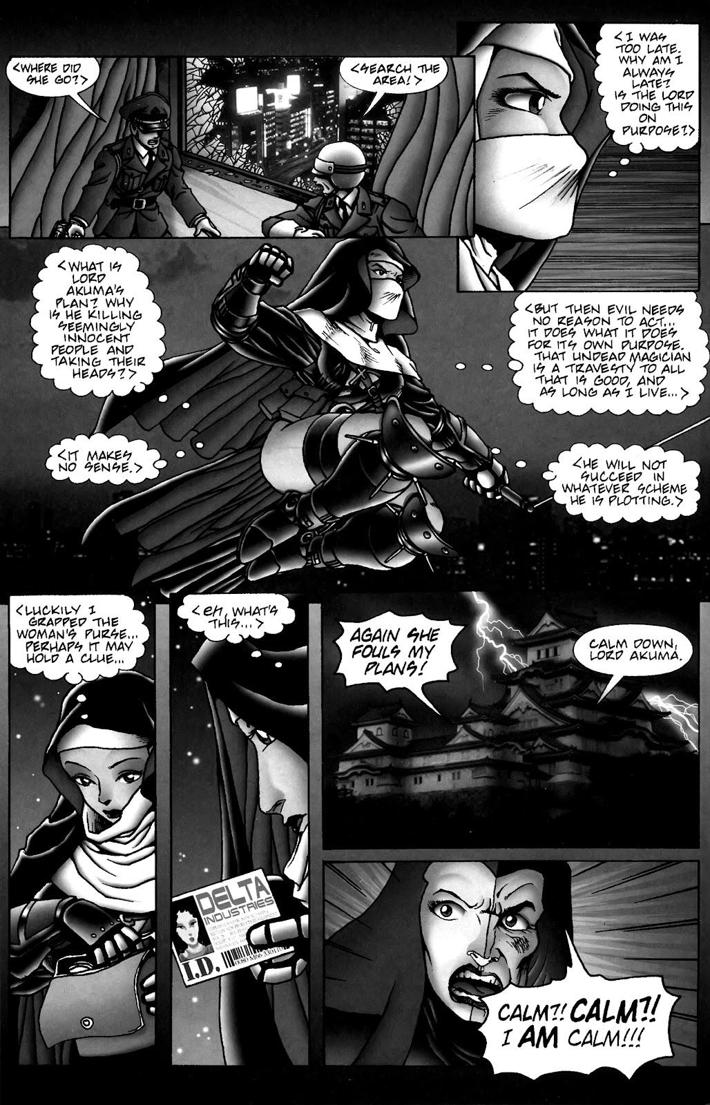 Warrior Nun Areala:  Dangerous Game Issue #3 #3 - English 24