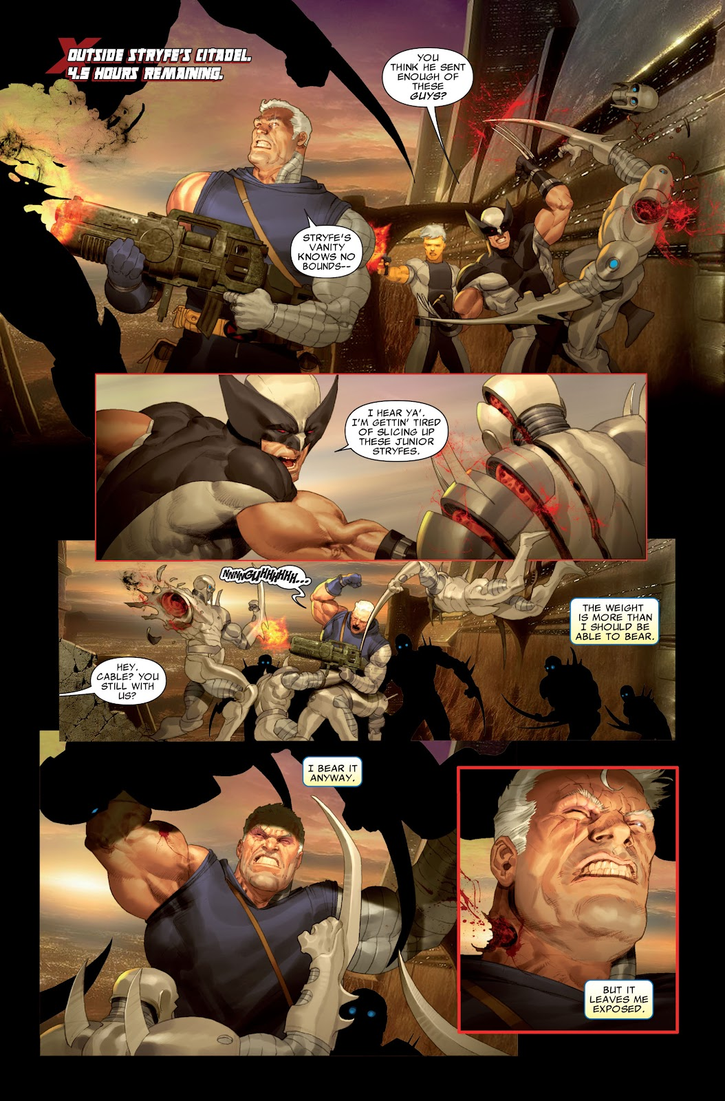 Read online X-Force/Cable: Messiah War comic -  Issue # _TPB (Part 2) - 61