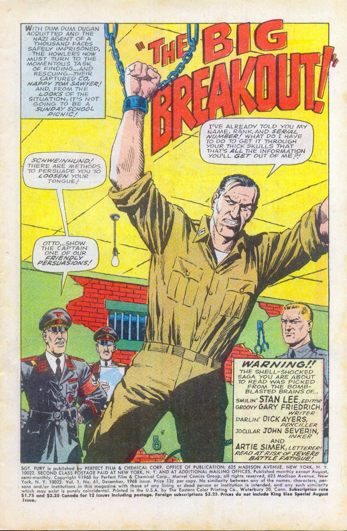 Read online Sgt. Fury comic -  Issue #61 - 3