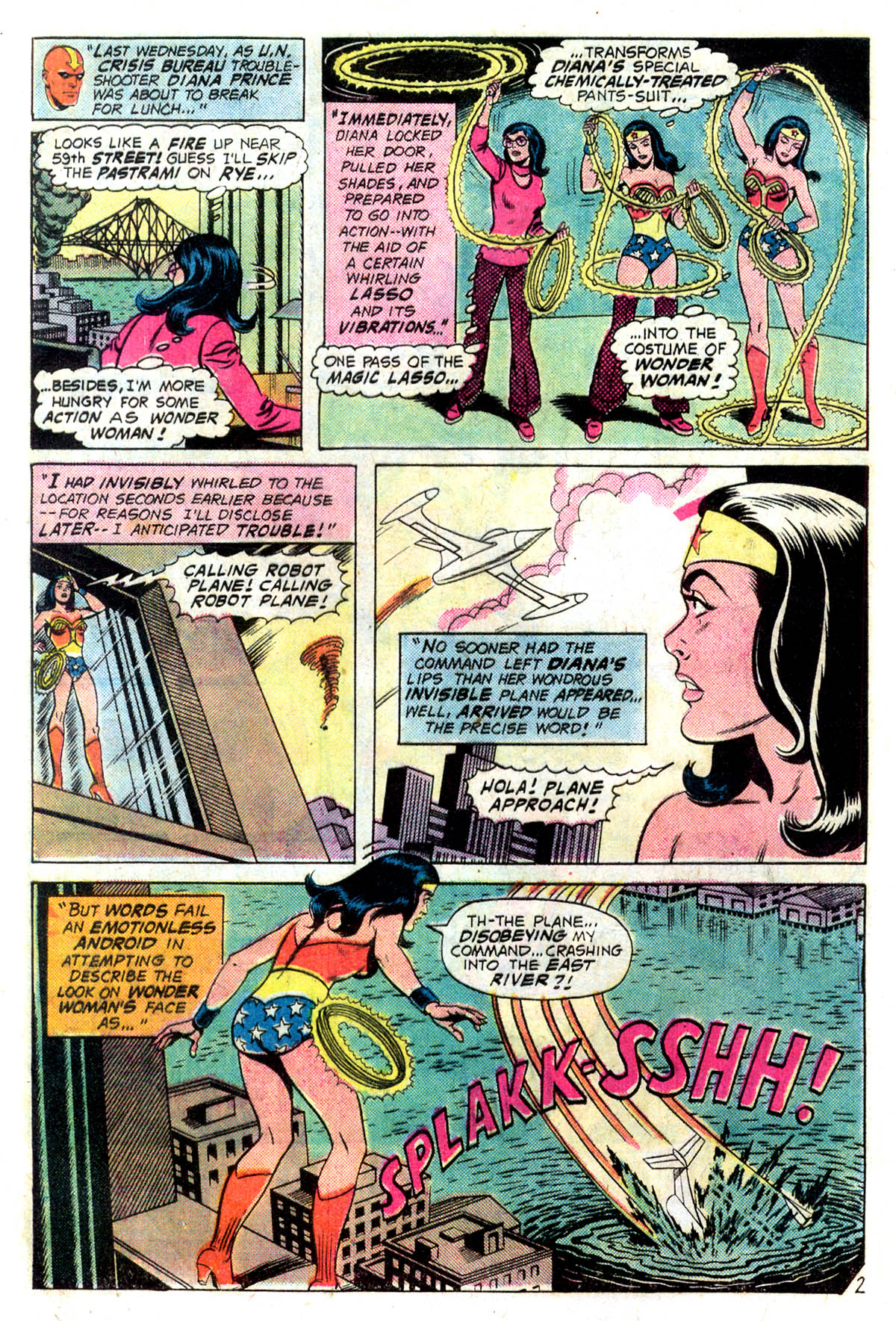 Read online Wonder Woman (1942) comic -  Issue #218 - 4