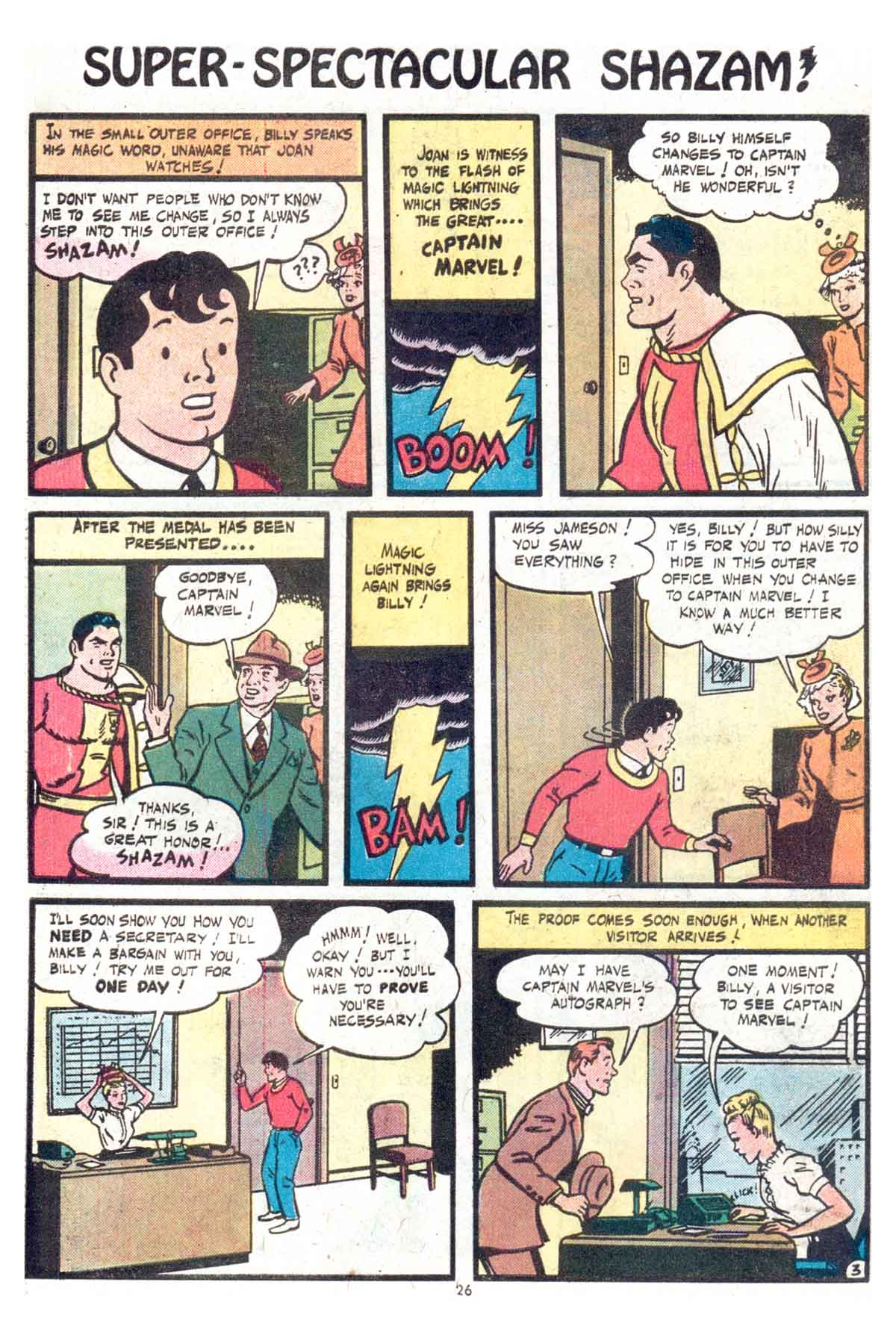 Read online Shazam! (1973) comic -  Issue #13 - 27