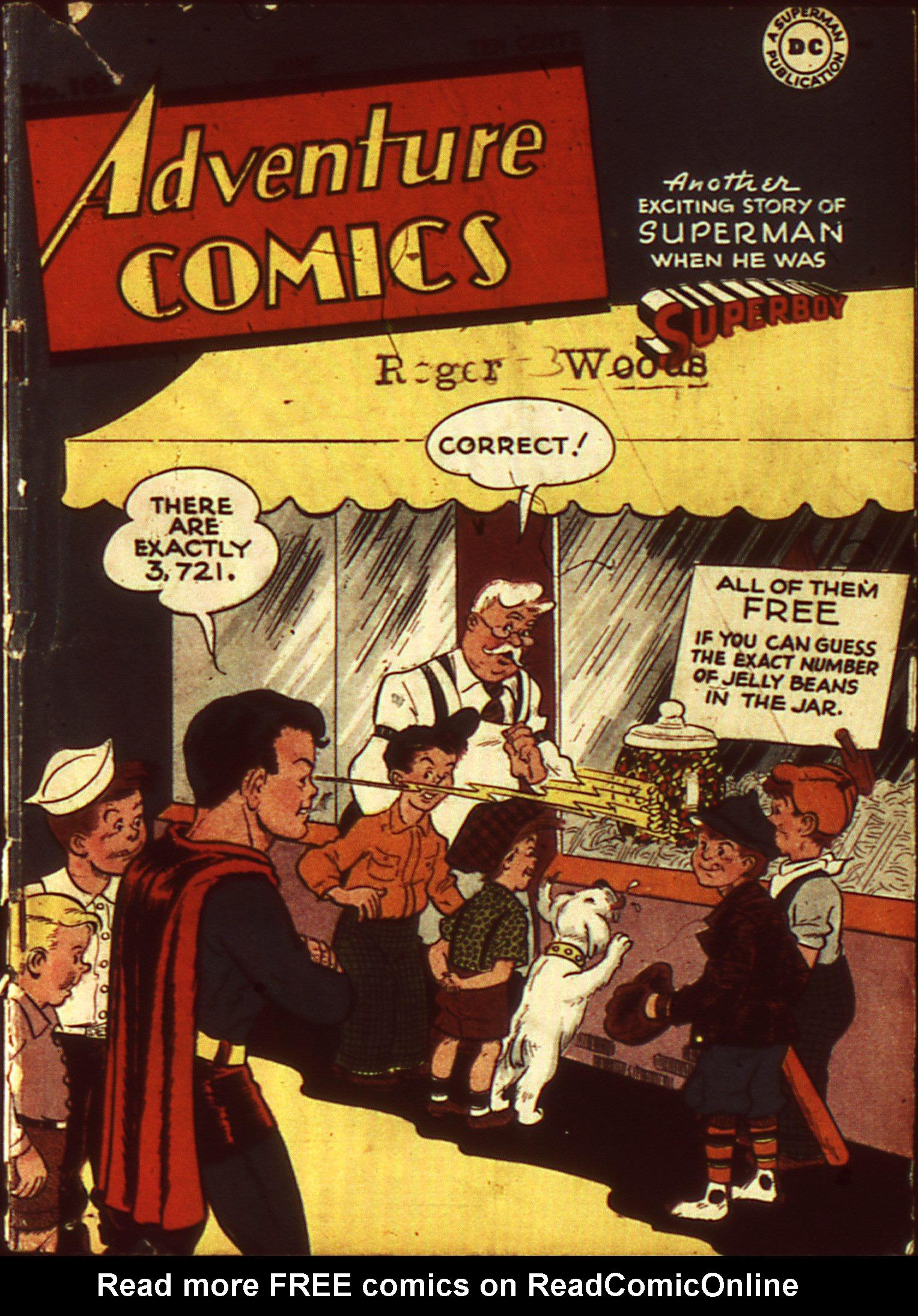 Adventure Comics (1938) 105 Page 1