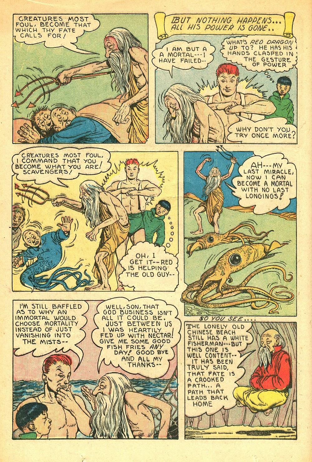 Read online Super-Magician Comics comic -  Issue #56 - 16