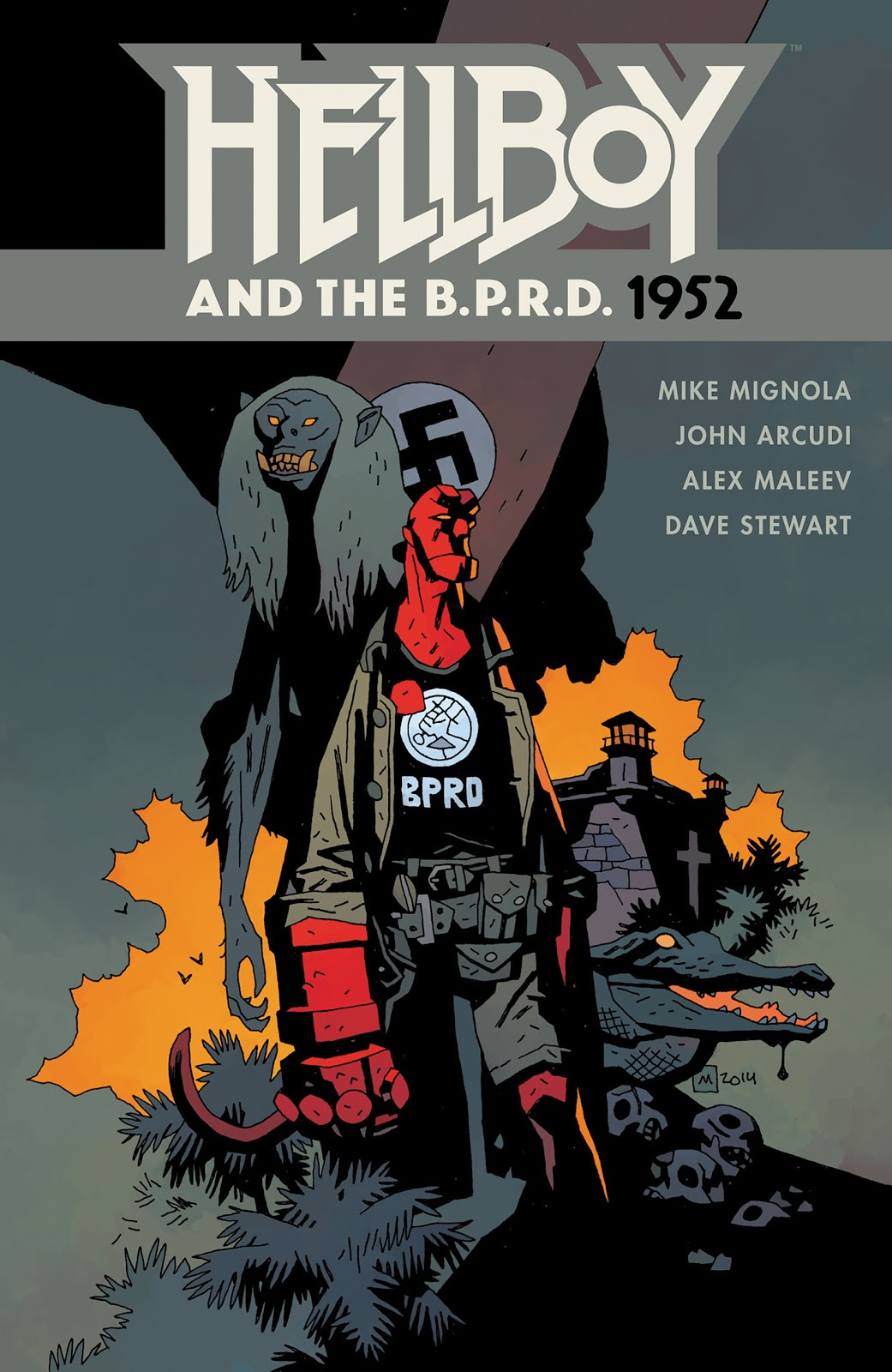 Read online Hellboy and the B.P.R.D. comic -  Issue # _TPB - 1