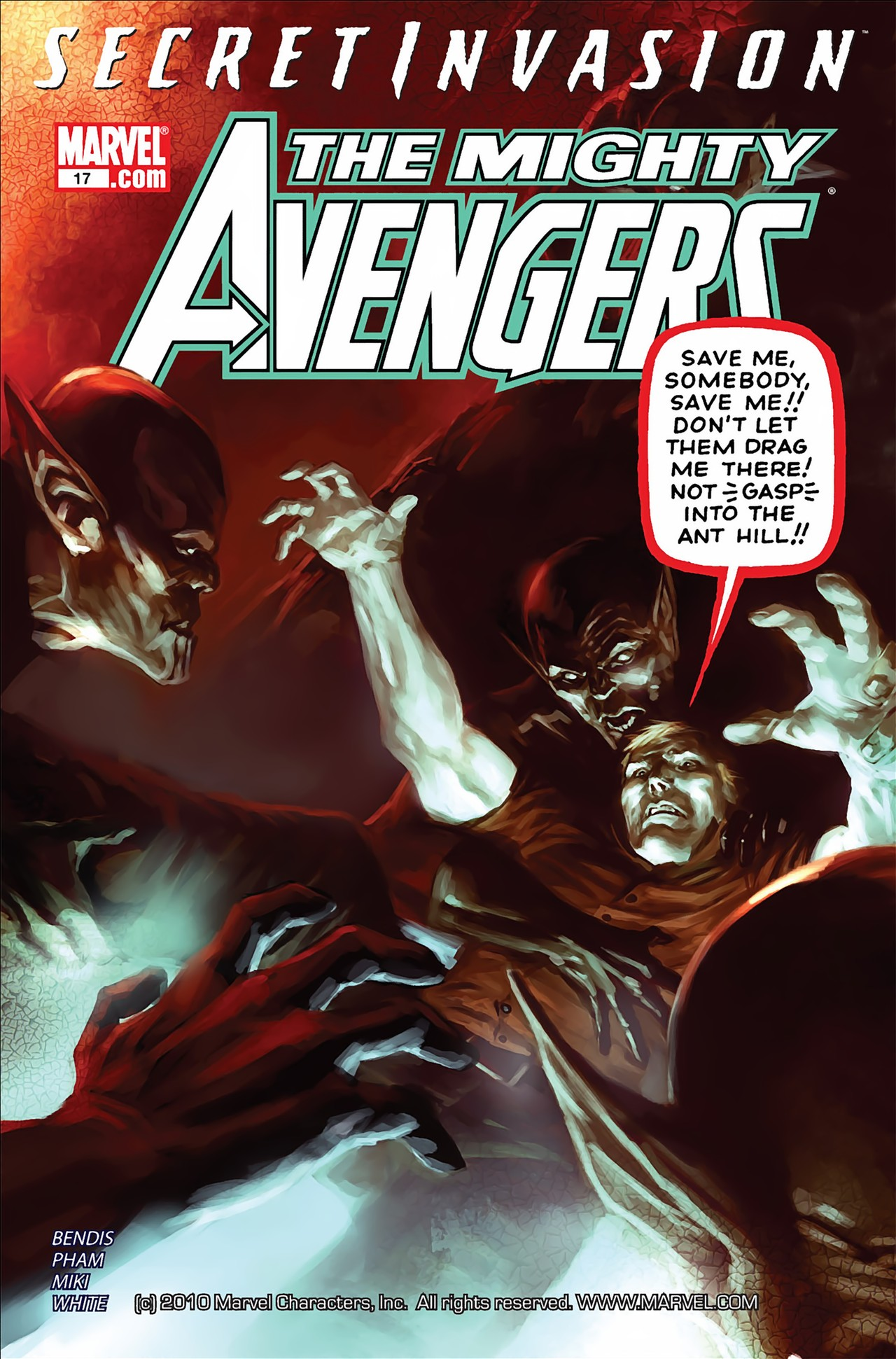 The Mighty Avengers 17 Page 1