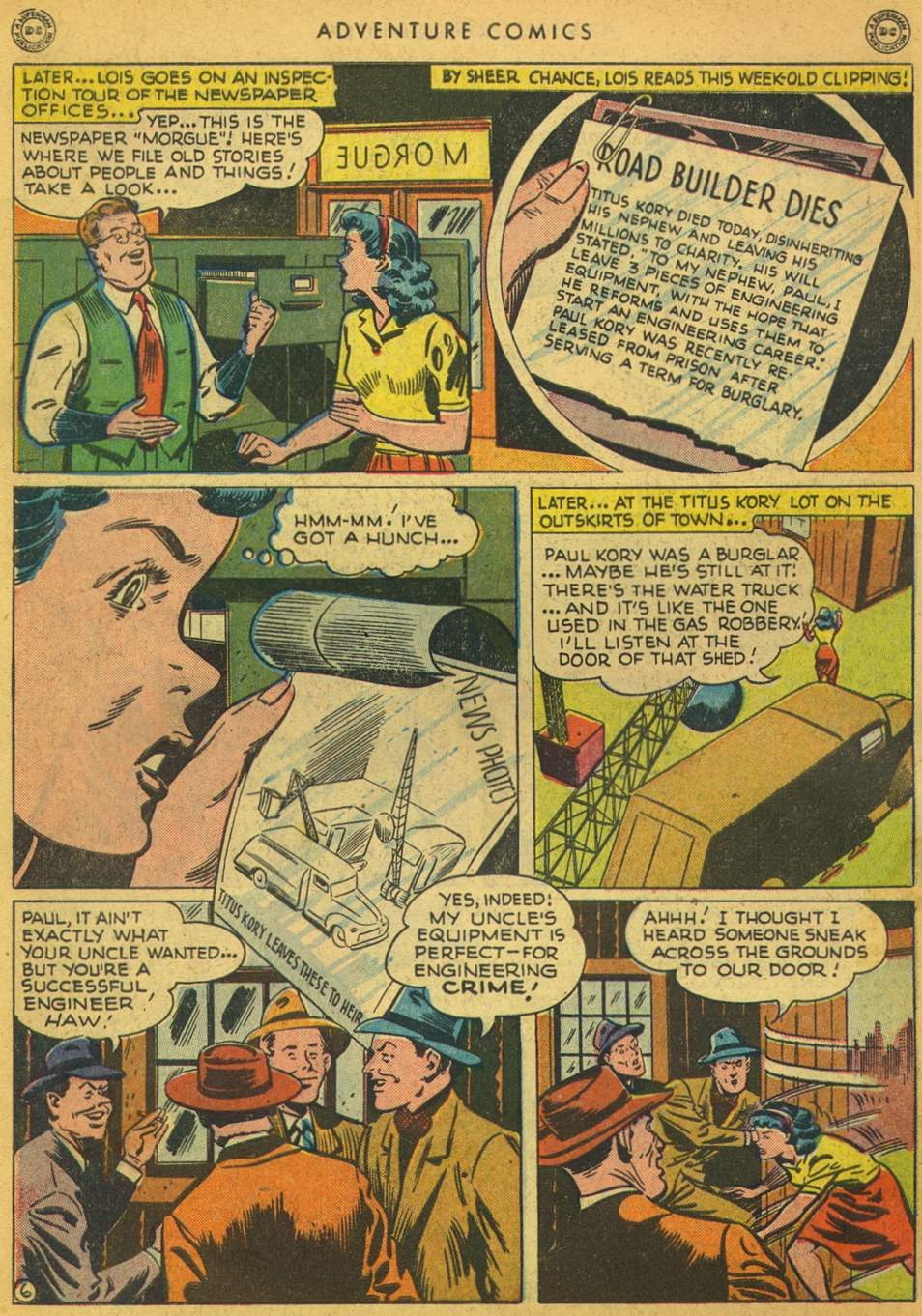 Read online Adventure Comics (1938) comic -  Issue #128 - 7