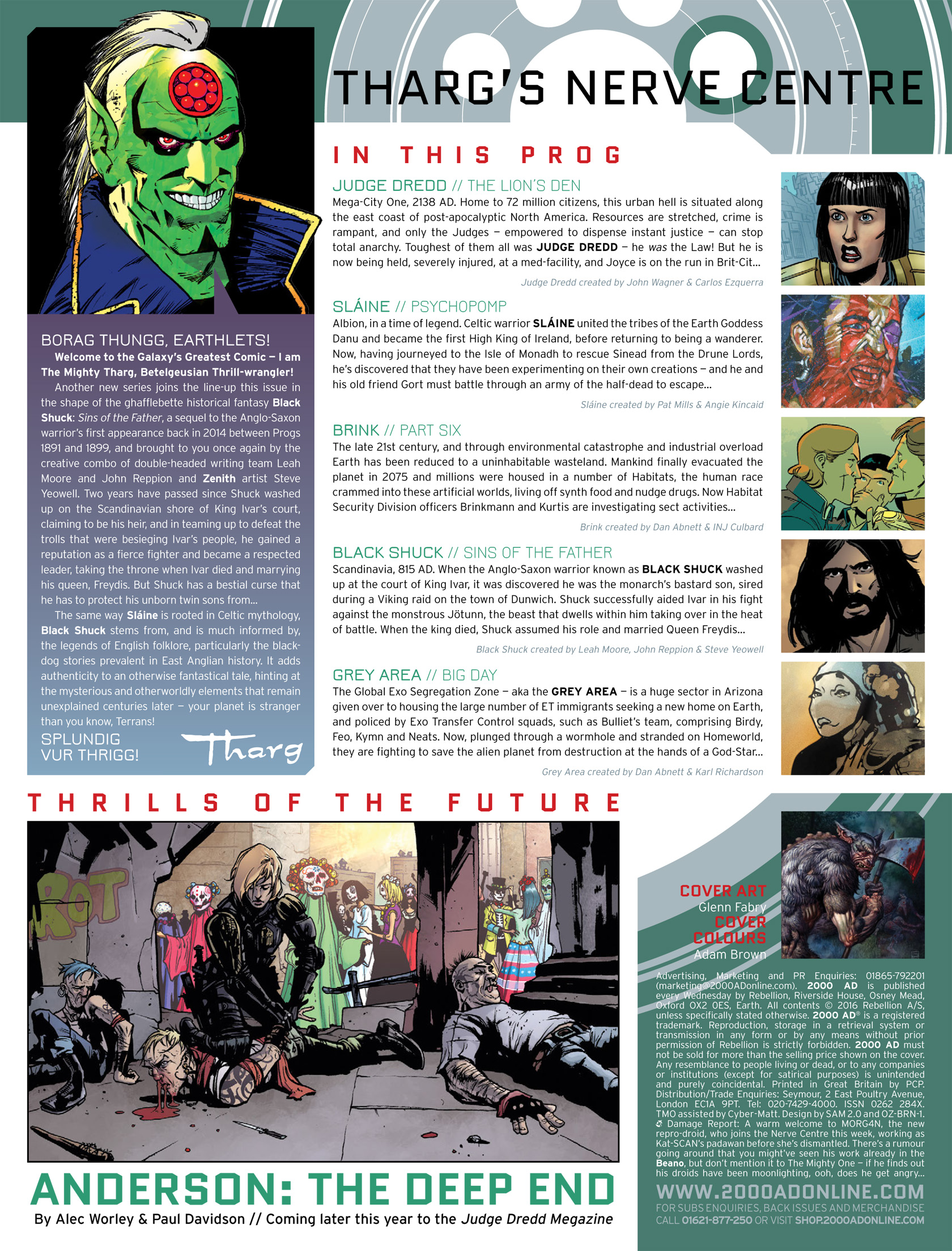 Read online 2000 AD comic -  Issue #1983 - 2