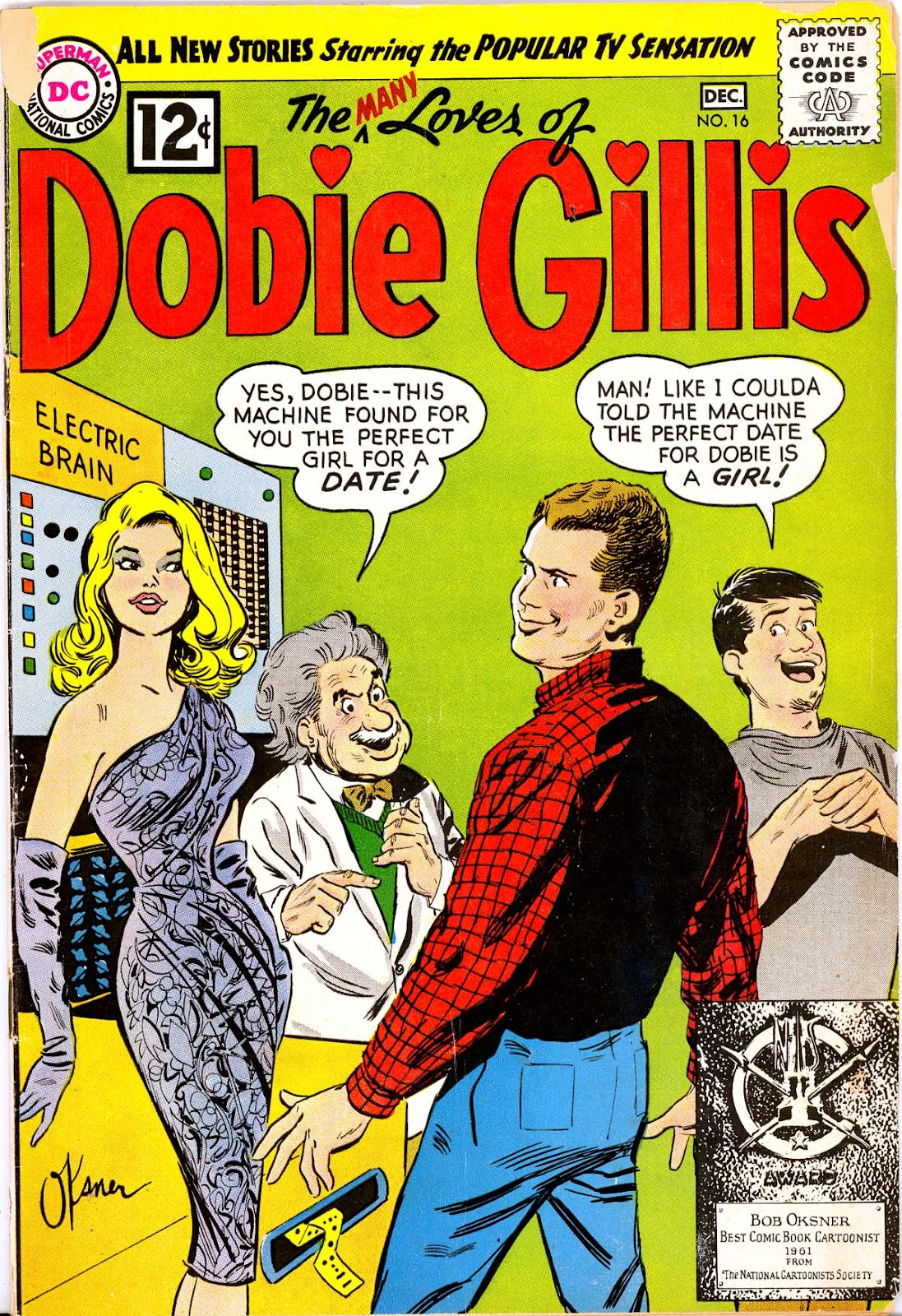 Many Loves of Dobie Gillis issue 16 - Page 1