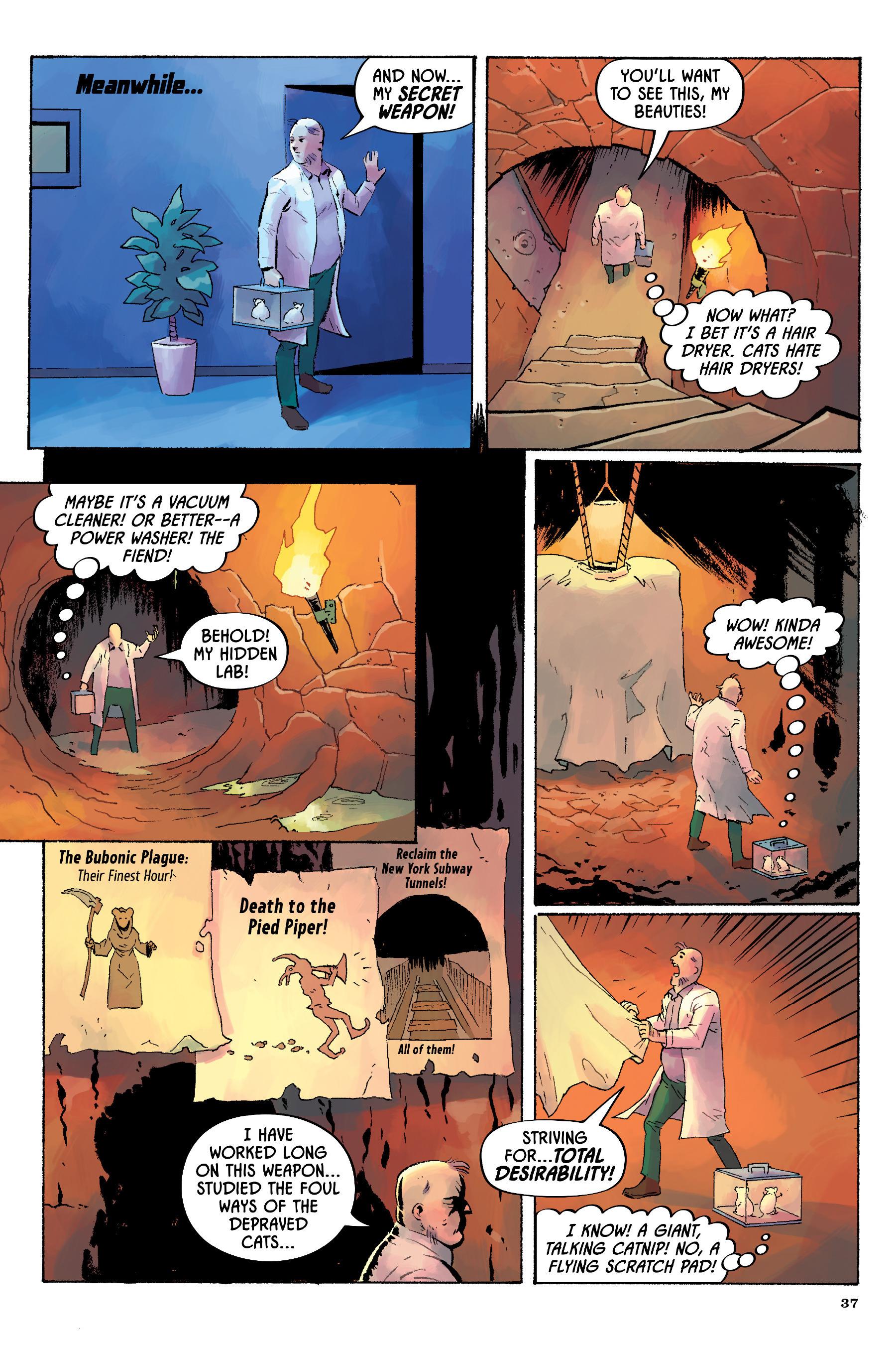 Read online Angel Catbird comic -  Issue # TPB 2 - 38