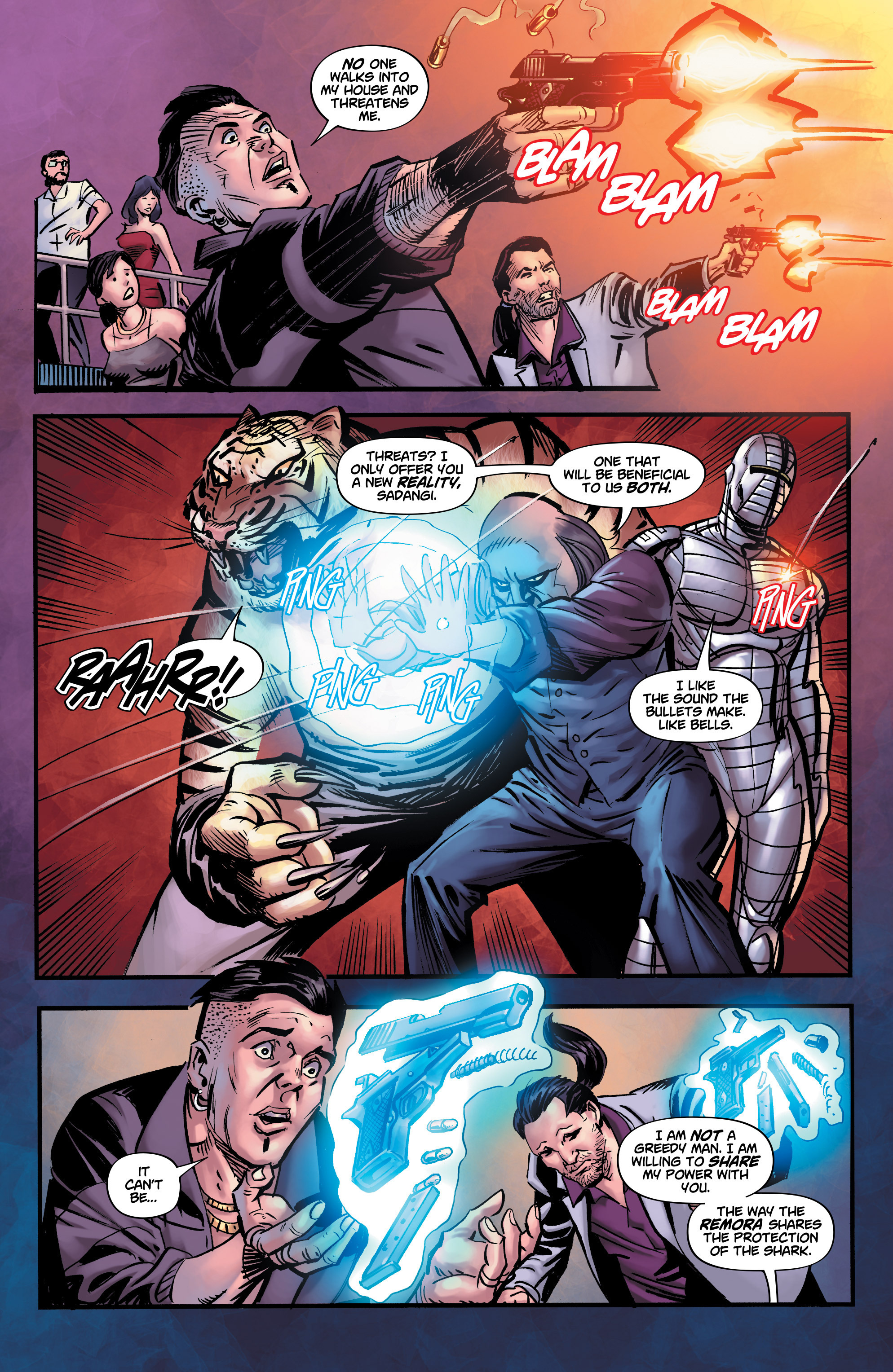 Read online Shadow Tiger comic -  Issue #3 - 6
