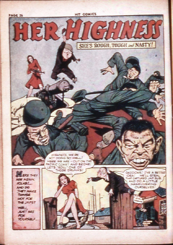 Read online Hit Comics comic -  Issue #29 - 28
