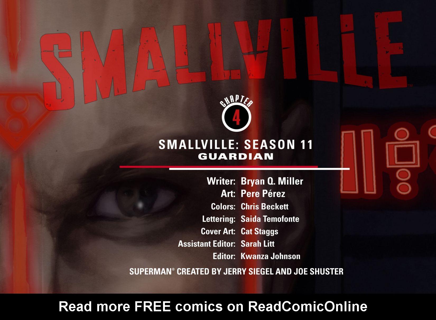 Read online Smallville: Season 11 comic -  Issue #4 - 2