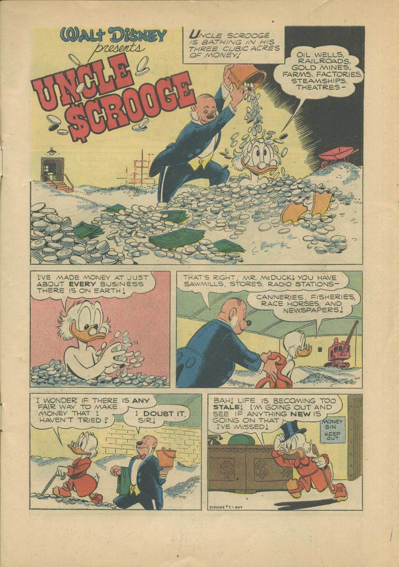 Read online Uncle Scrooge (1953) comic -  Issue #7 - 3