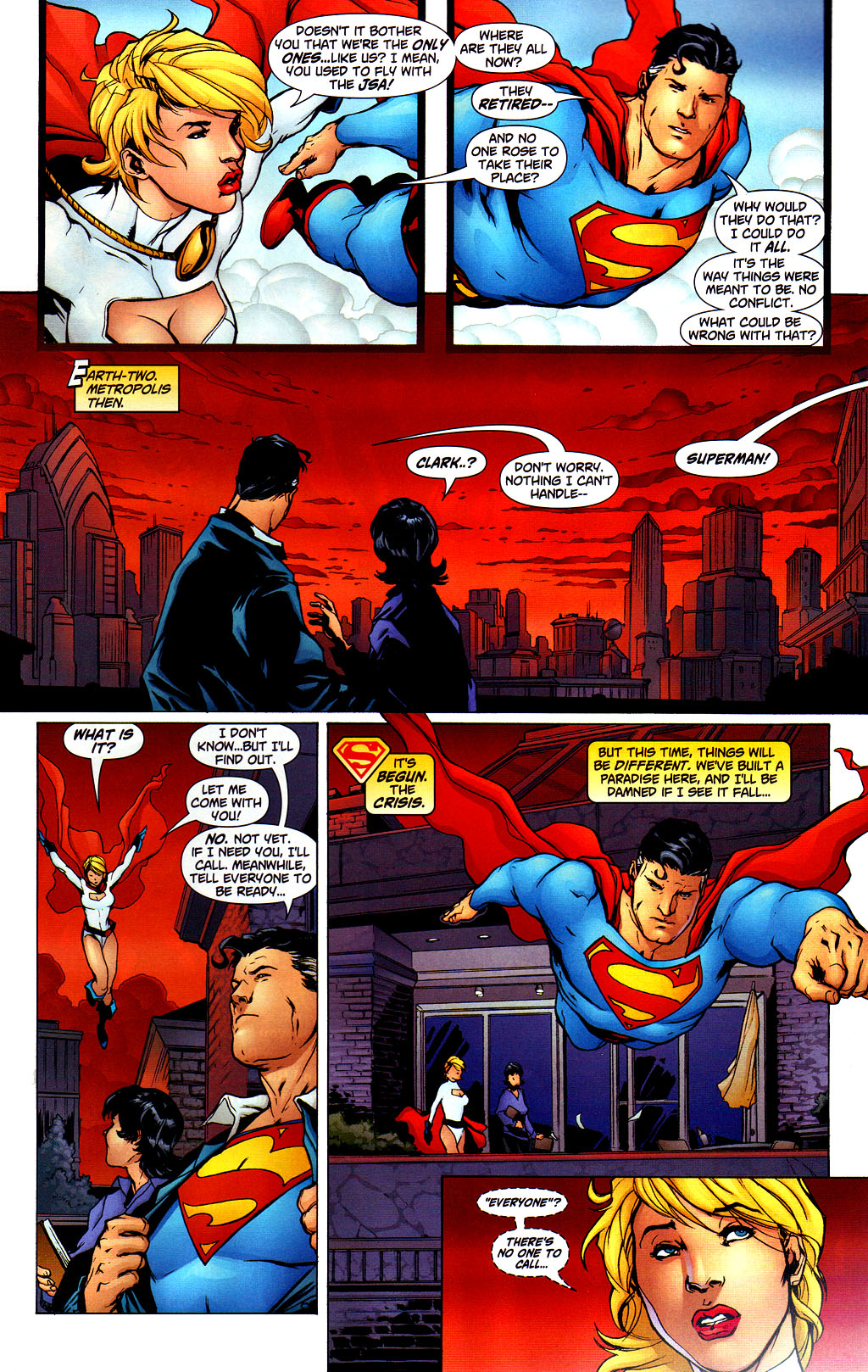Read online Adventures of Superman (1987) comic -  Issue #649 - 8