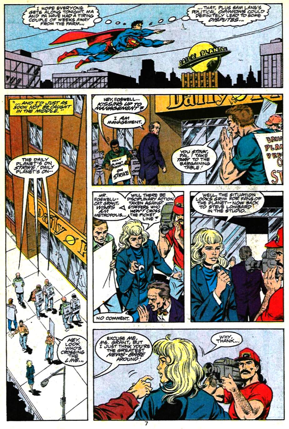 Read online Adventures of Superman (1987) comic -  Issue #482 - 8