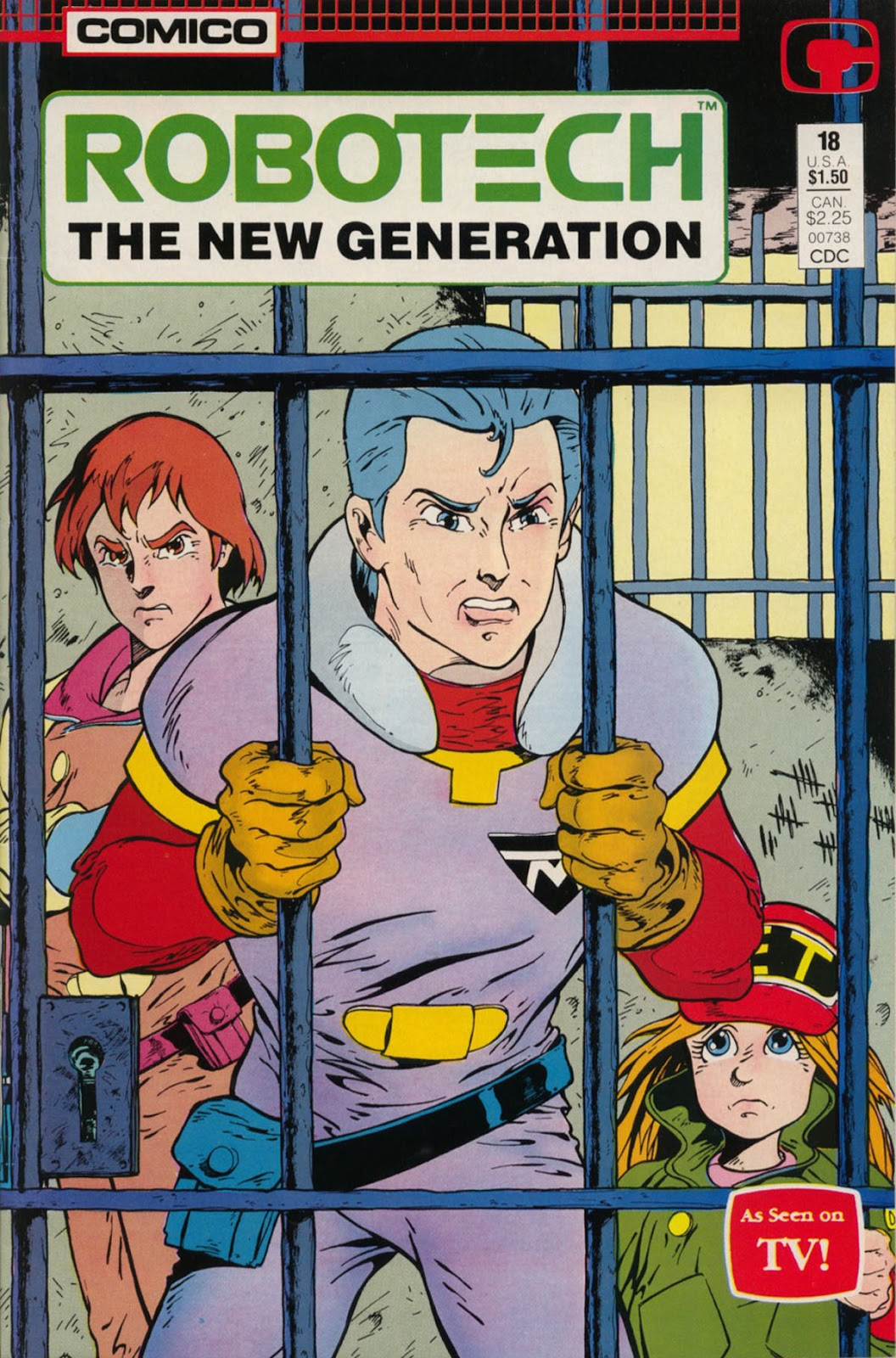 Robotech The New Generation issue 18 - Page 1