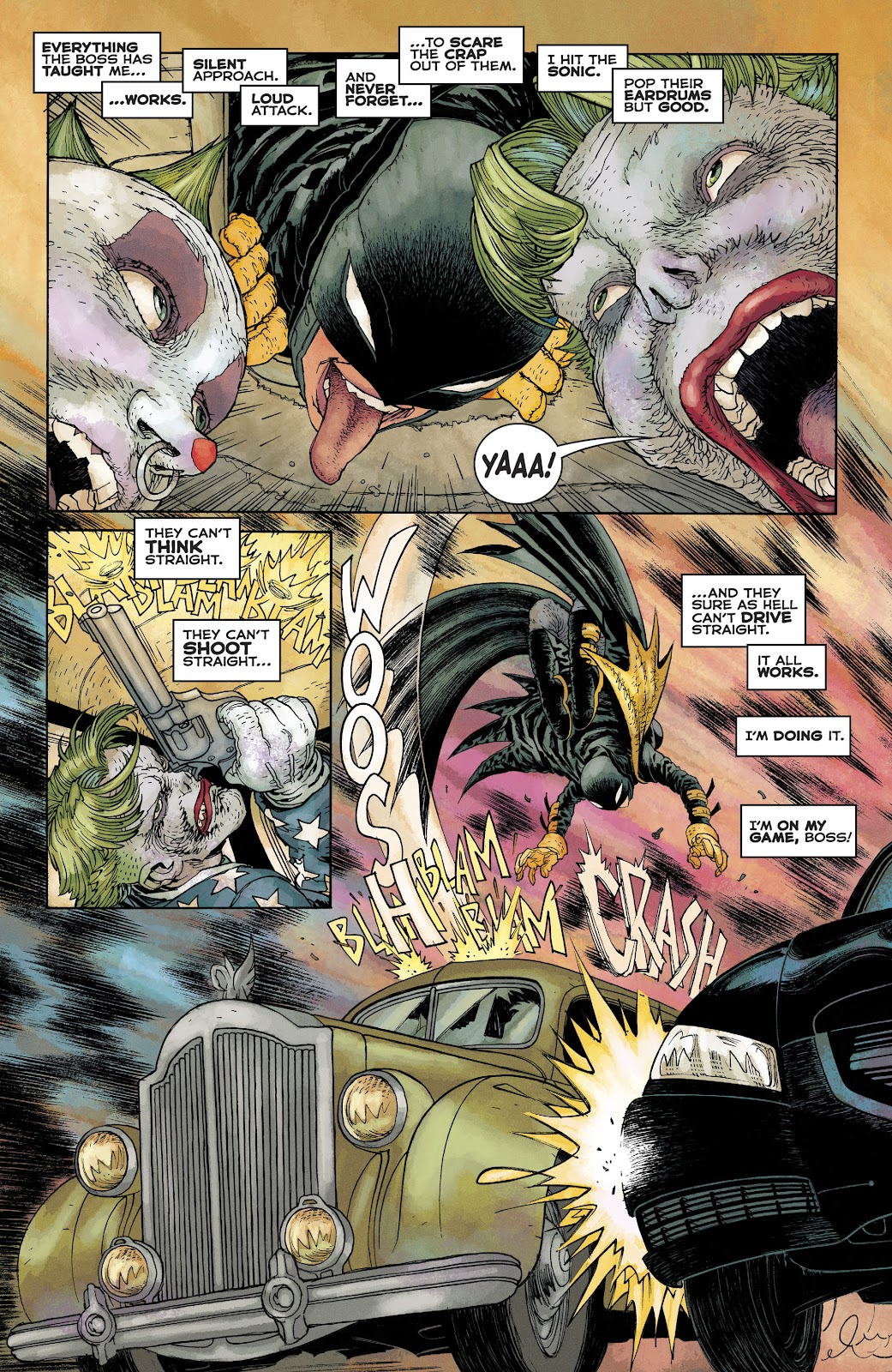 Dark Knight Returns: The Golden Child issue Full - Page 32