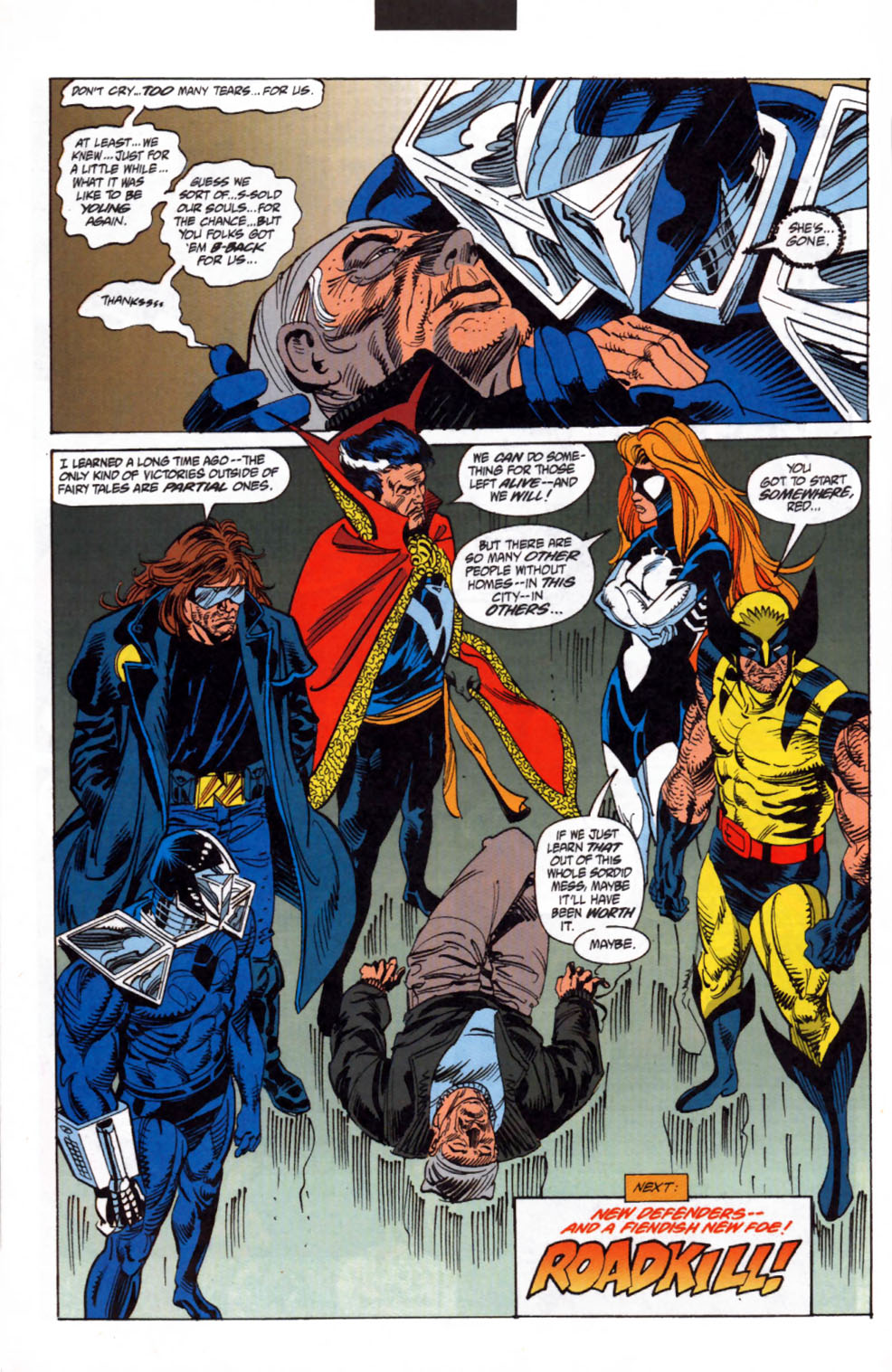 Read online Secret Defenders comic -  Issue #3 - 23