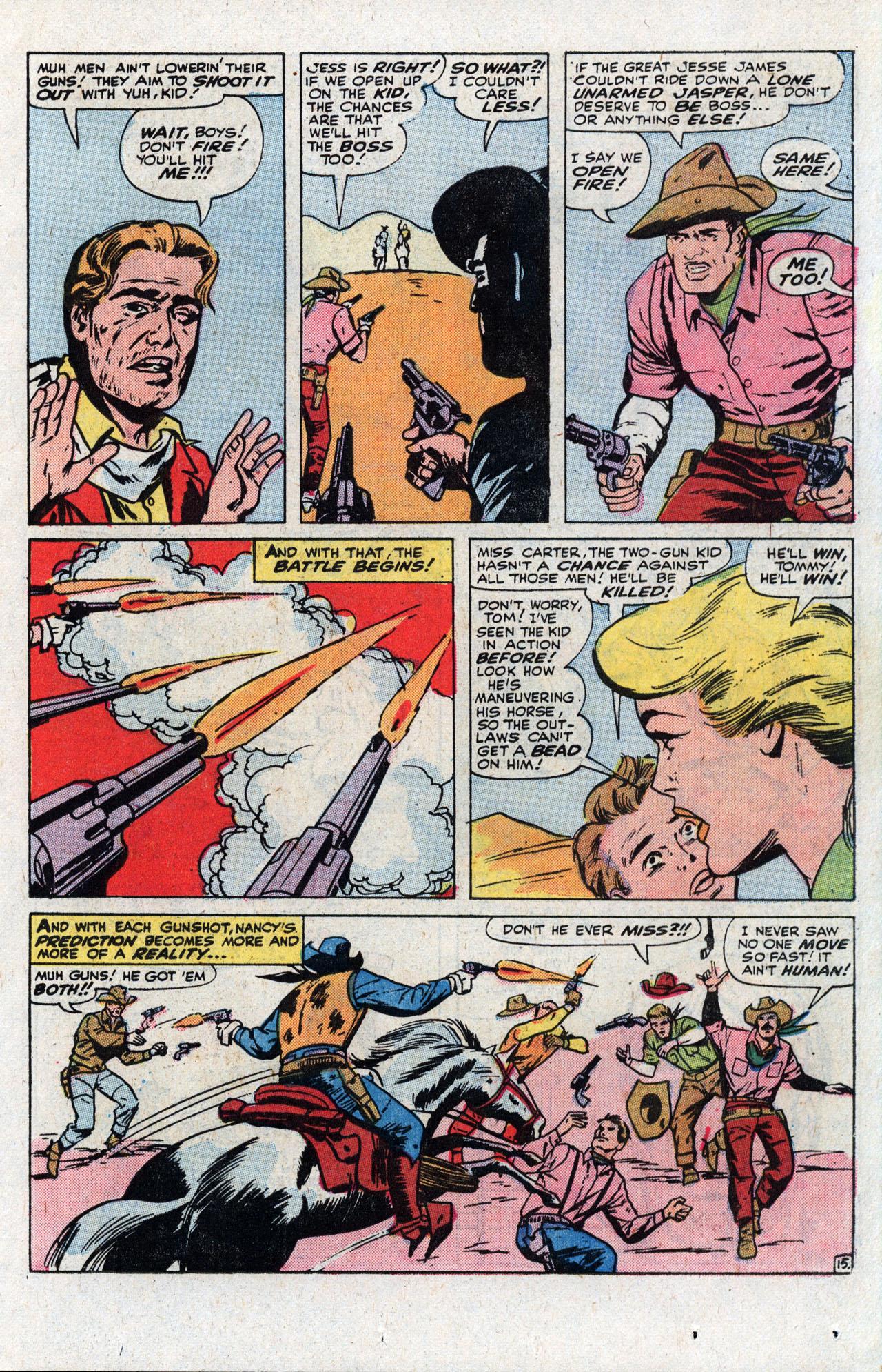 Read online Two-Gun Kid comic -  Issue #111 - 23