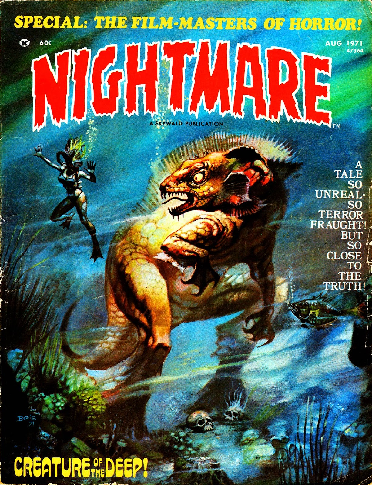 Nightmare (1970) issue 5 - Page 1