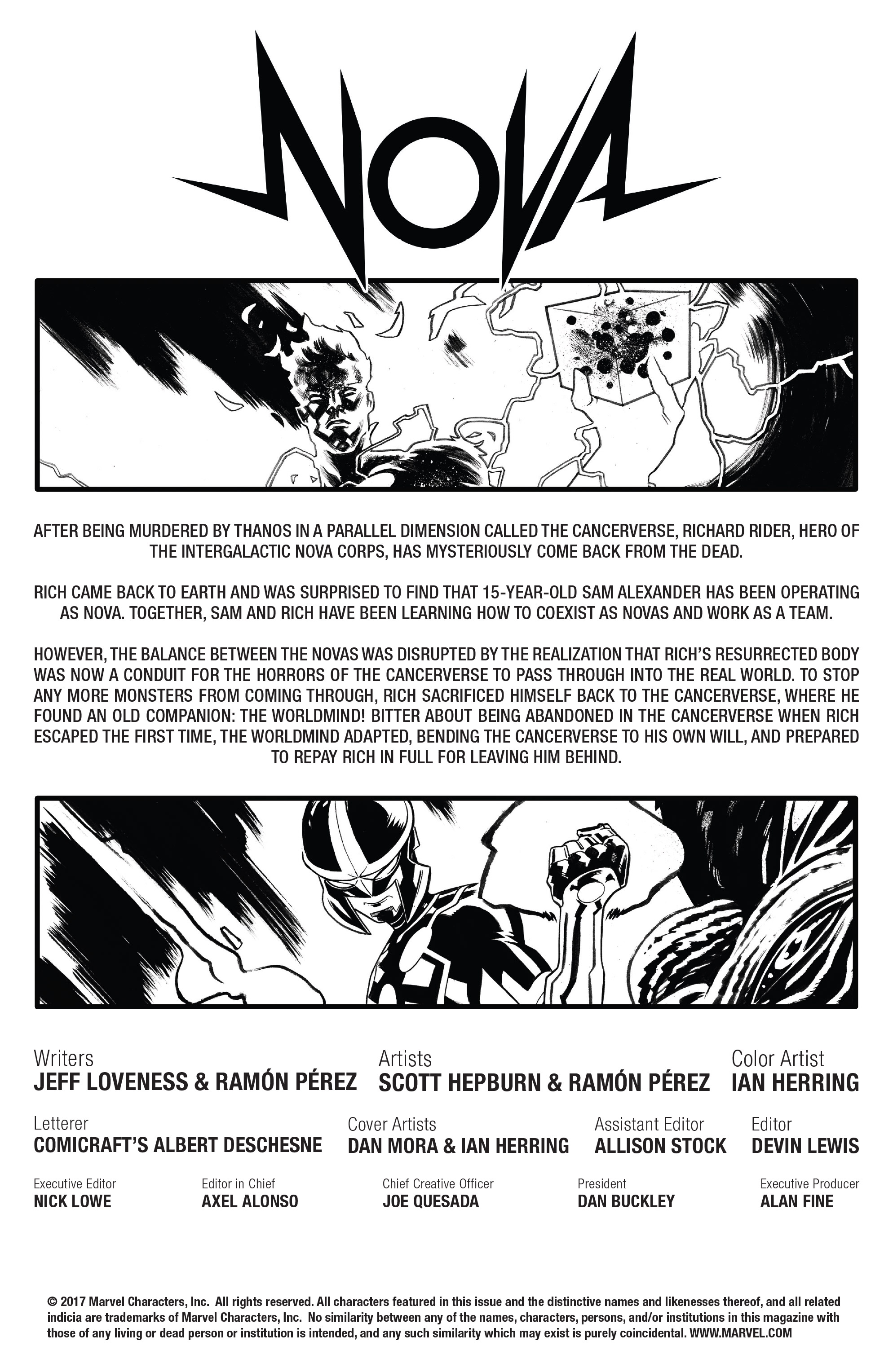 Read online Nova (2017) comic -  Issue #7 - 2