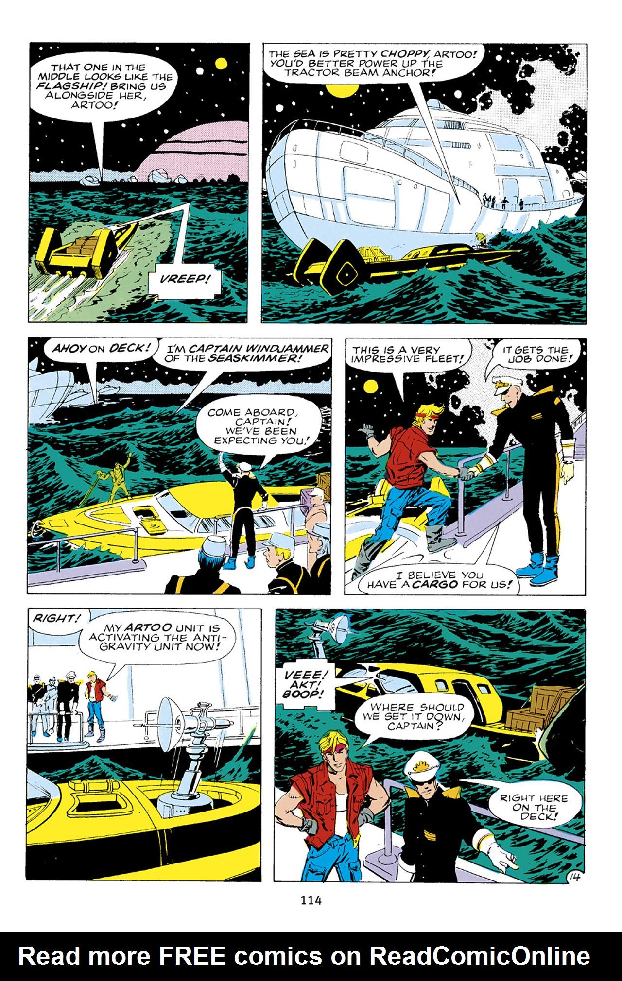 Read online Star Wars Omnibus comic -  Issue # Vol. 23 - 113