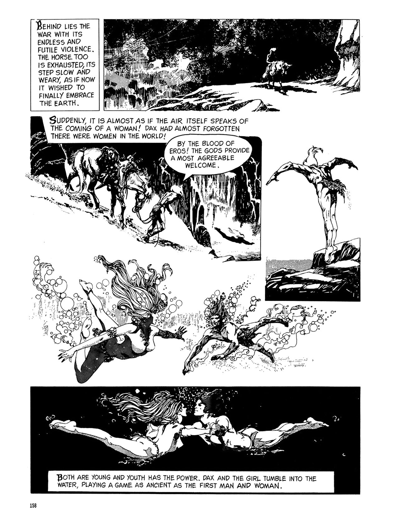 Read online Eerie Archives comic -  Issue # TPB 8 - 159