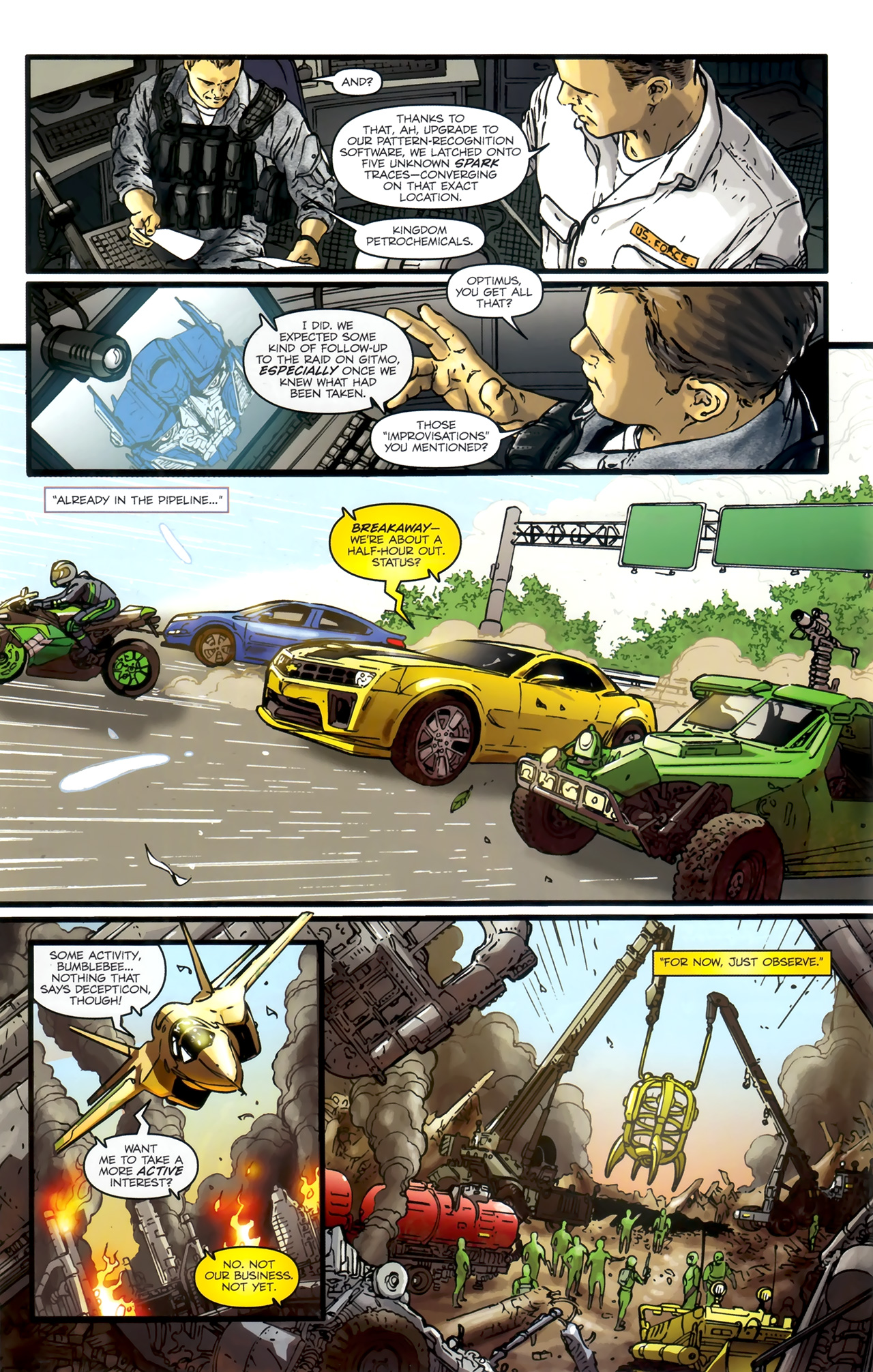 Read online Transformers: Nefarious comic -  Issue #1 - 16