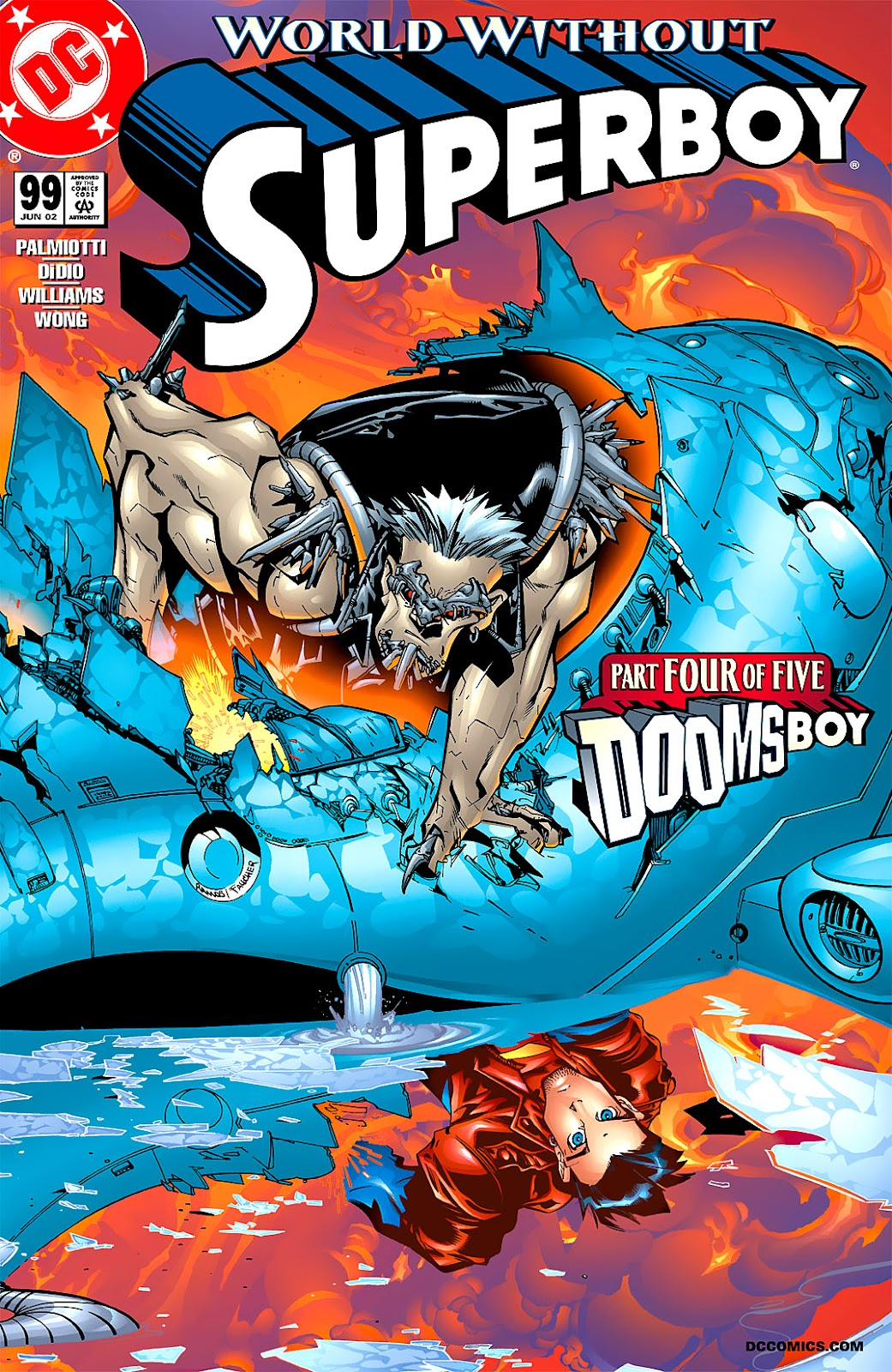 Superboy (1994) 99 Page 1