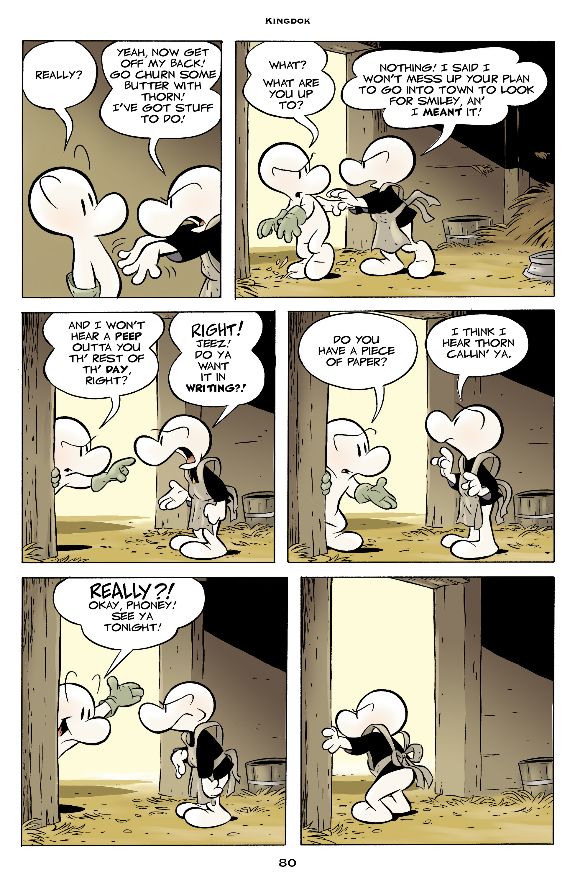 Read online Bone: Out From Boneville comic -  Issue # TPB - 80