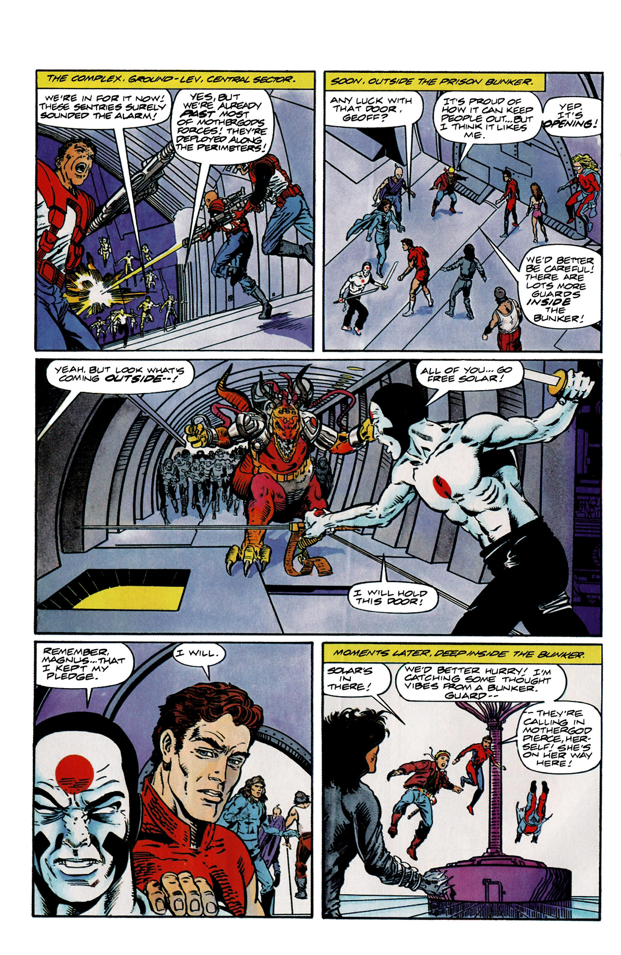 Read online Harbinger (1992) comic -  Issue #9 - 12