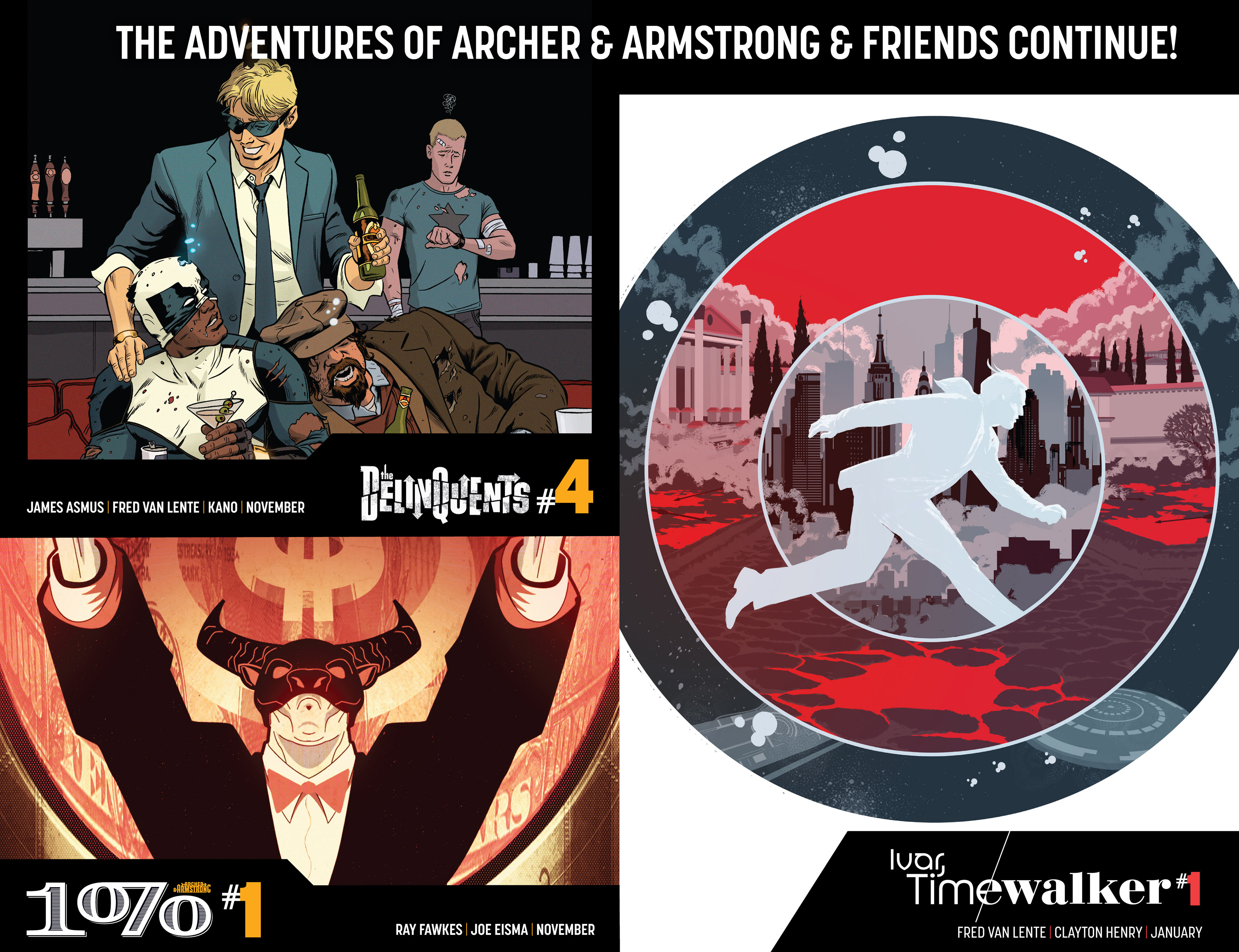 Read online Archer and Armstrong comic -  Issue #25 - 36