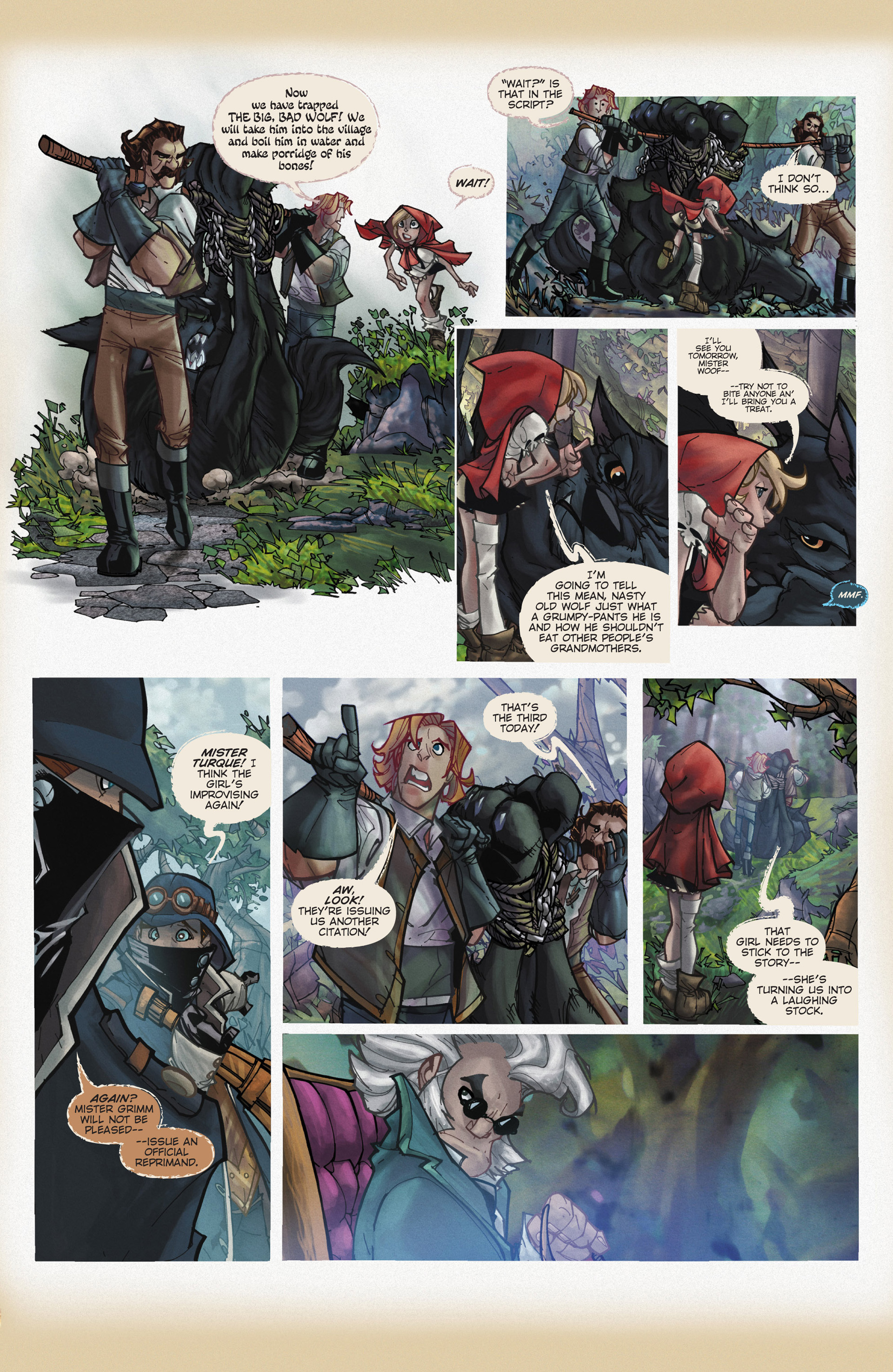 Read online Fairy Quest: Outlaws comic -  Issue #1 - 9