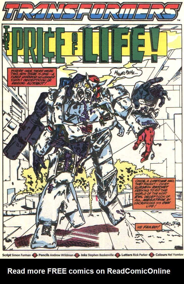 The Transformers (UK) 309 Page 2