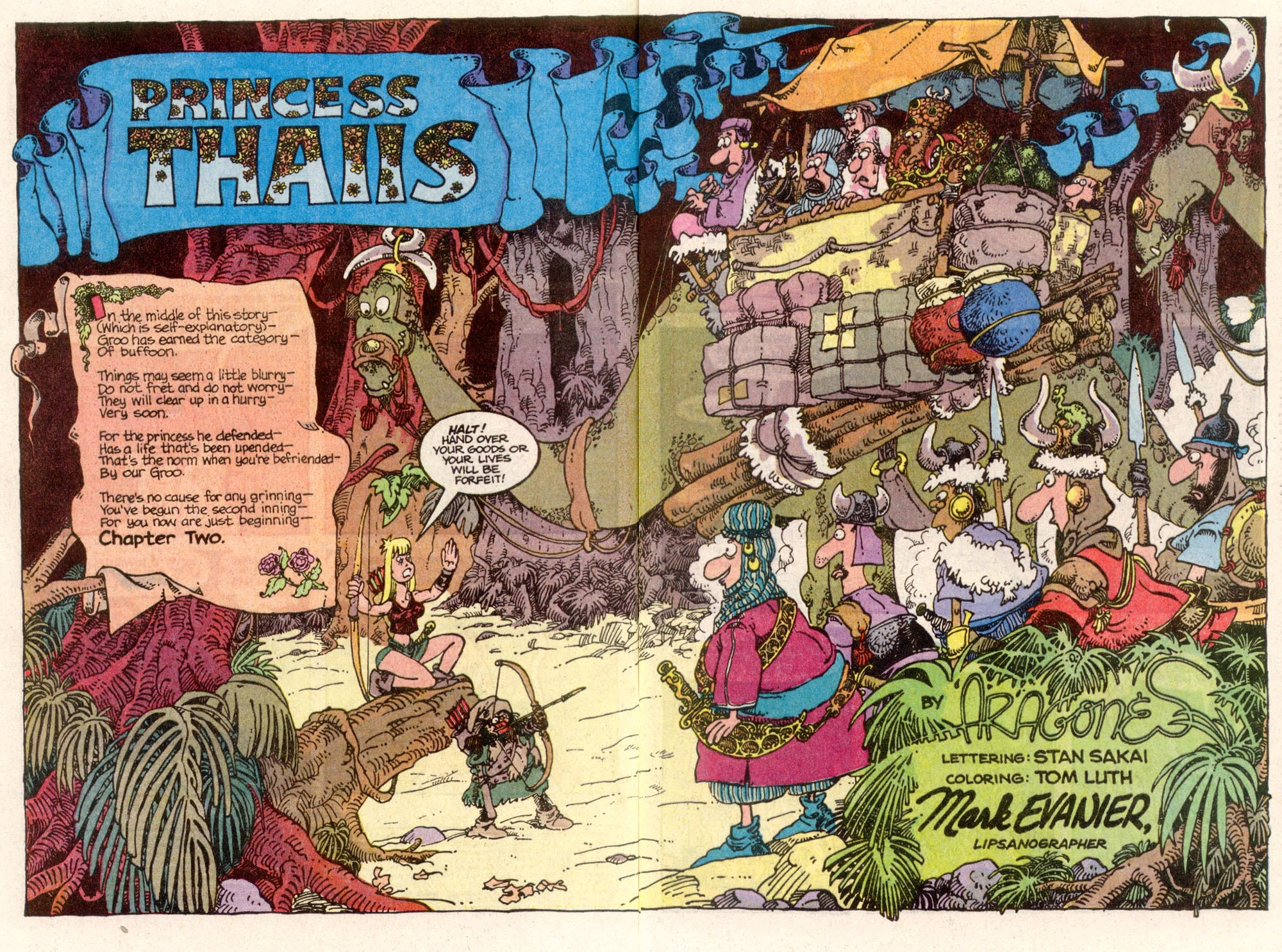 Read online Sergio Aragonés Groo the Wanderer comic -  Issue #81 - 3