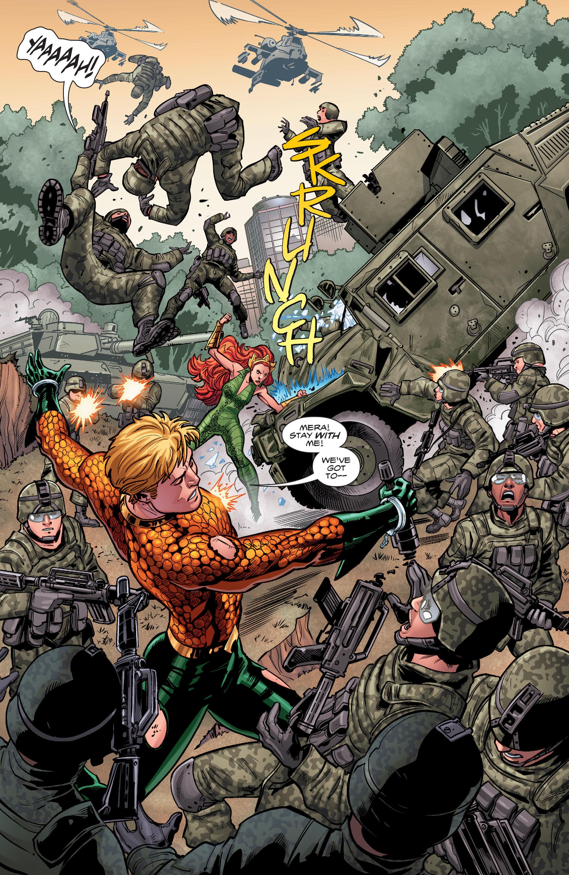 Read online Aquaman (2016) comic -  Issue #5 - 12