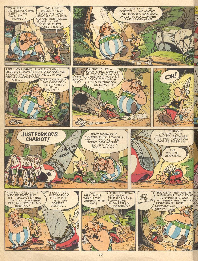 Read online Asterix comic -  Issue #9 - 17