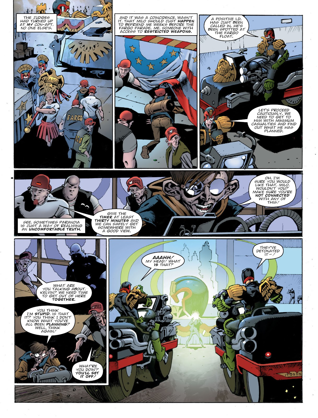 Read online 2000 AD comic -  Issue #2032 - 6