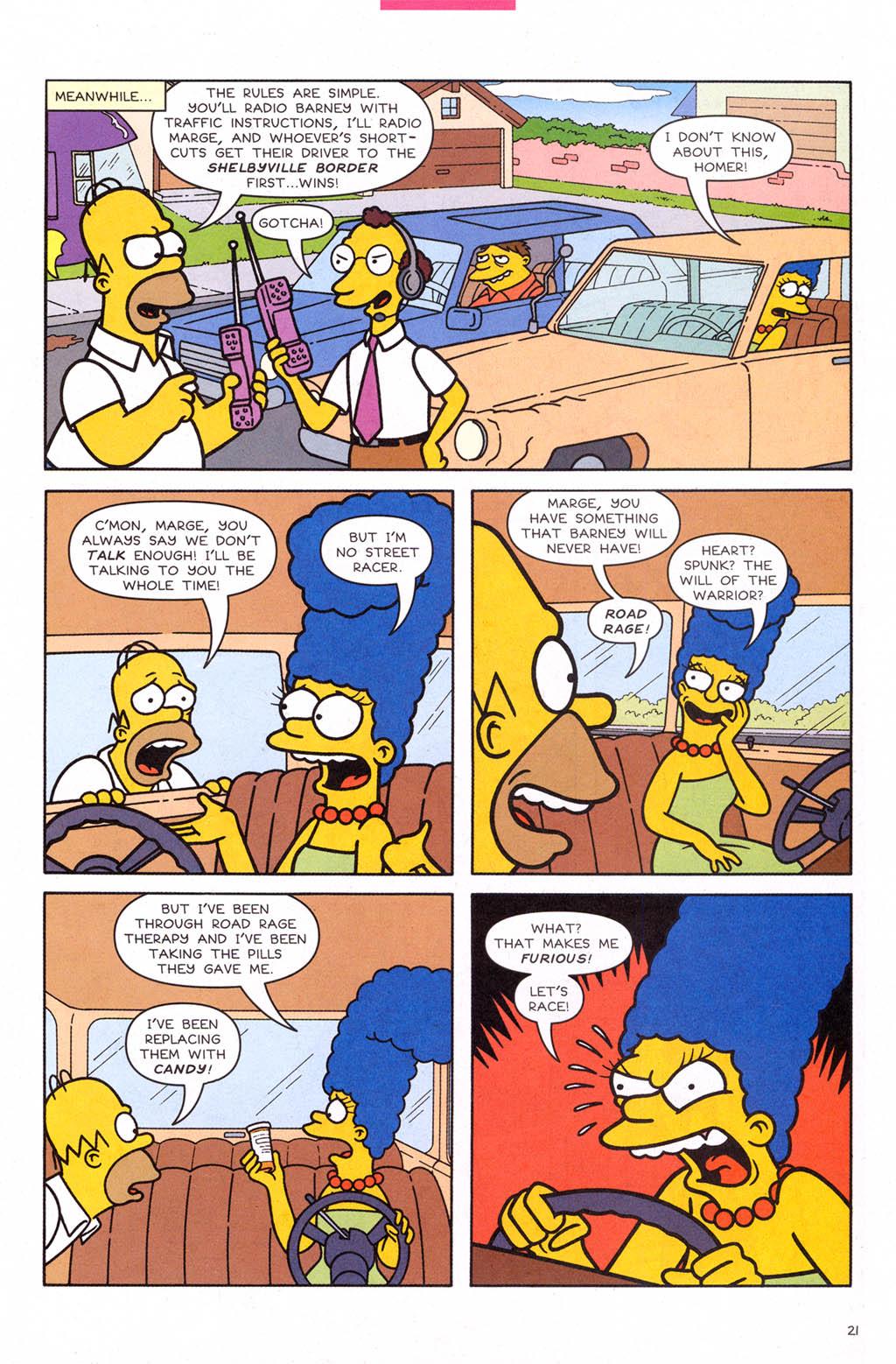 Read online Simpsons Comics comic -  Issue #109 - 22