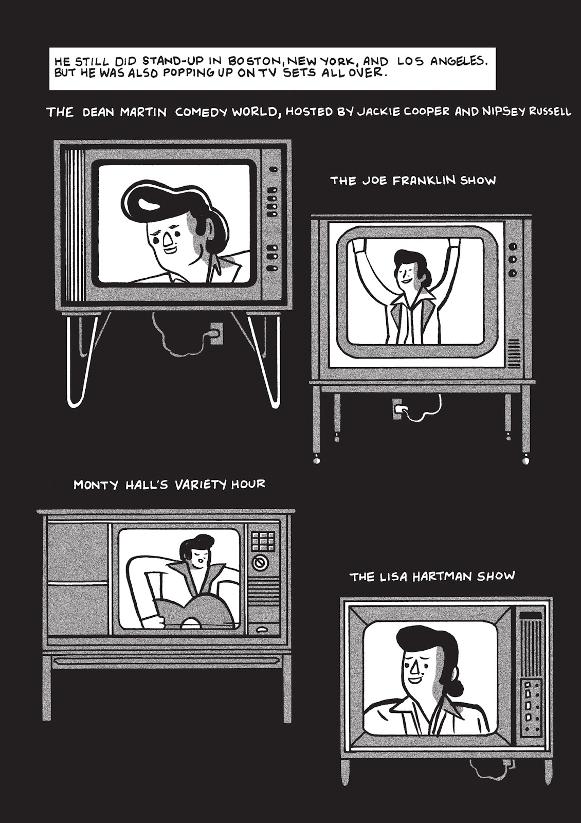 Read online Is This Guy For Real?: The Unbelievable Andy Kaufman comic -  Issue # TPB (Part 1) - 90