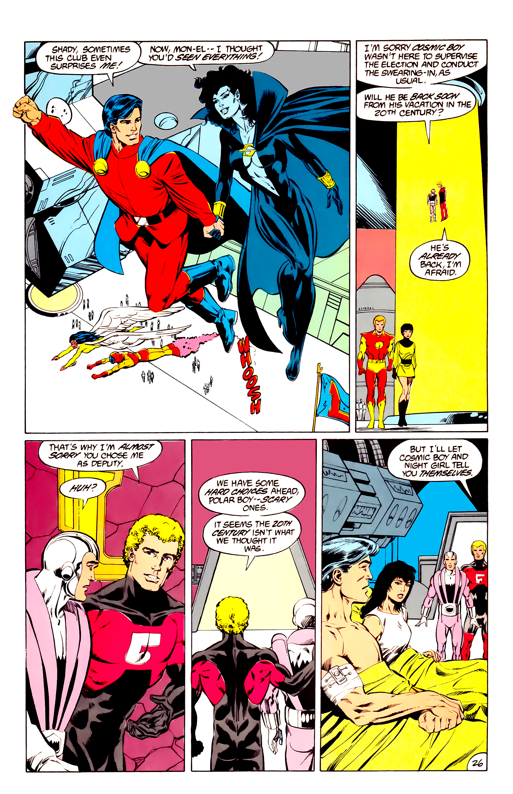 Legion of Super-Heroes (1984) 36 Page 26