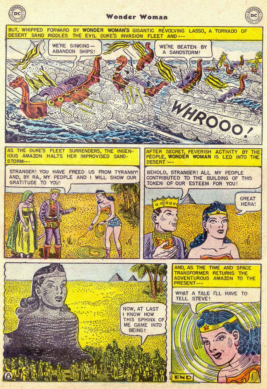 Read online Wonder Woman (1942) comic -  Issue #76 - 20
