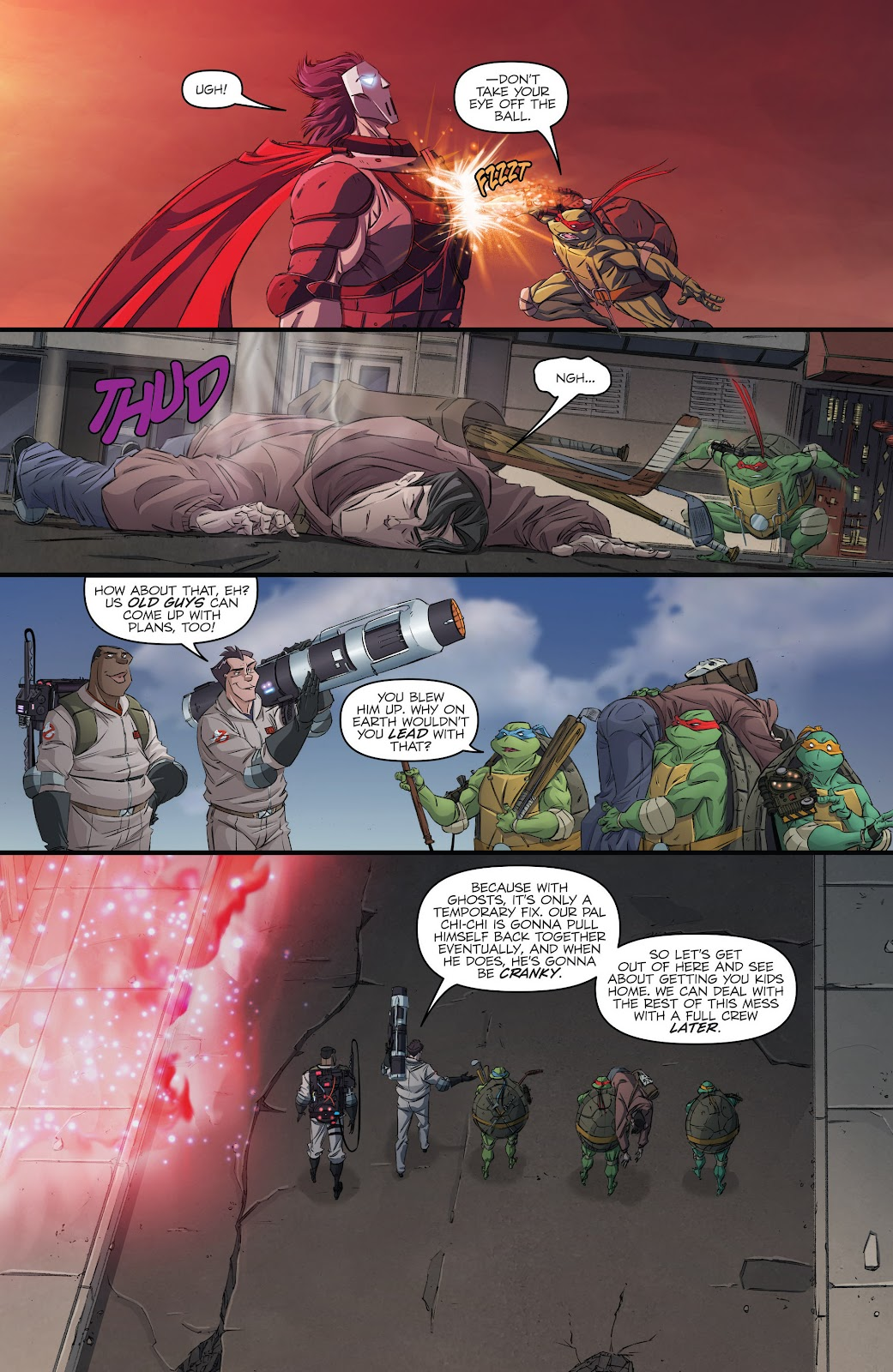 Read online Teenage Mutant Ninja Turtles: The IDW Collection comic -  Issue # TPB 5 (Part 3) - 36