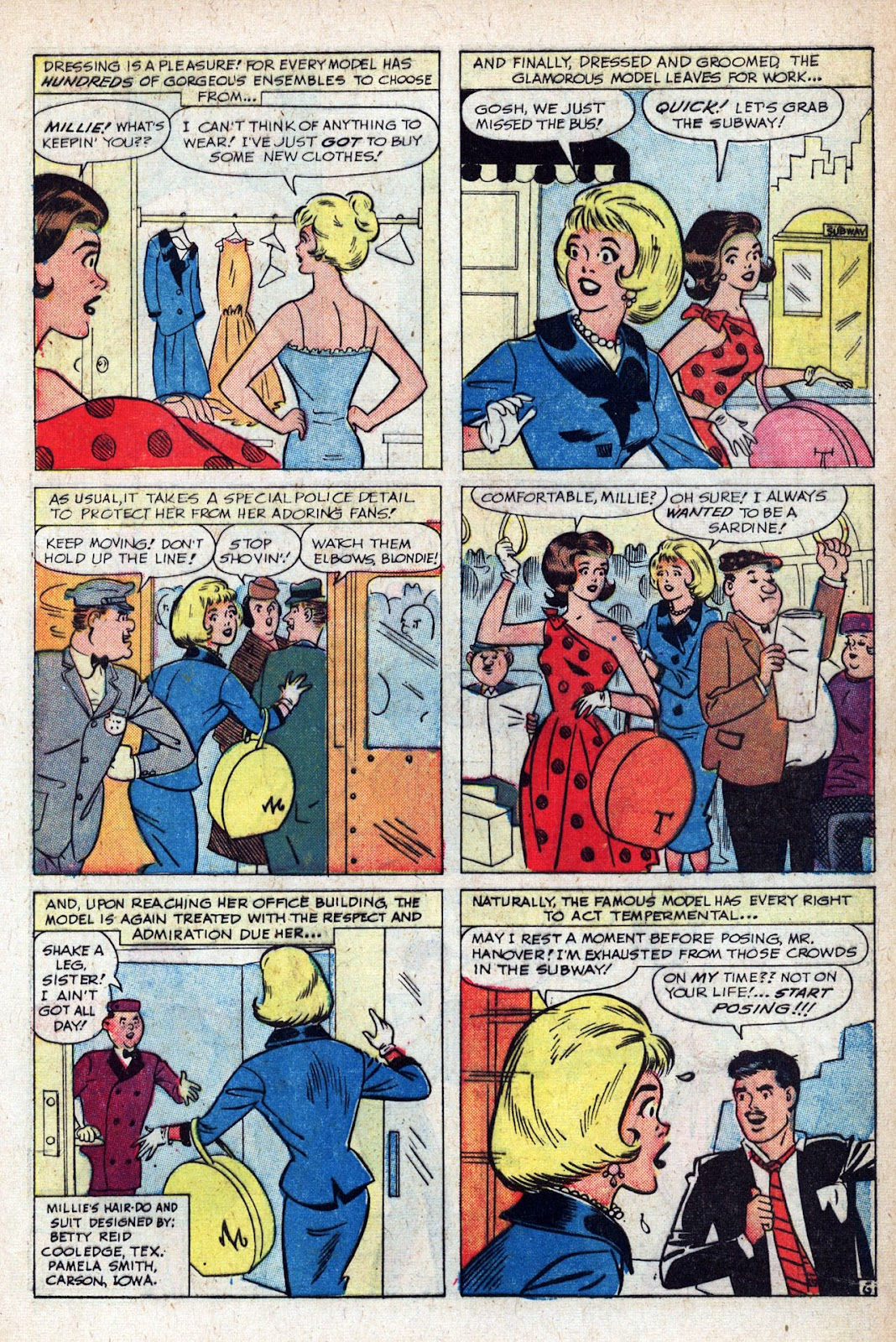 Read online Millie the Model comic -  Issue # Annual 1 - 37