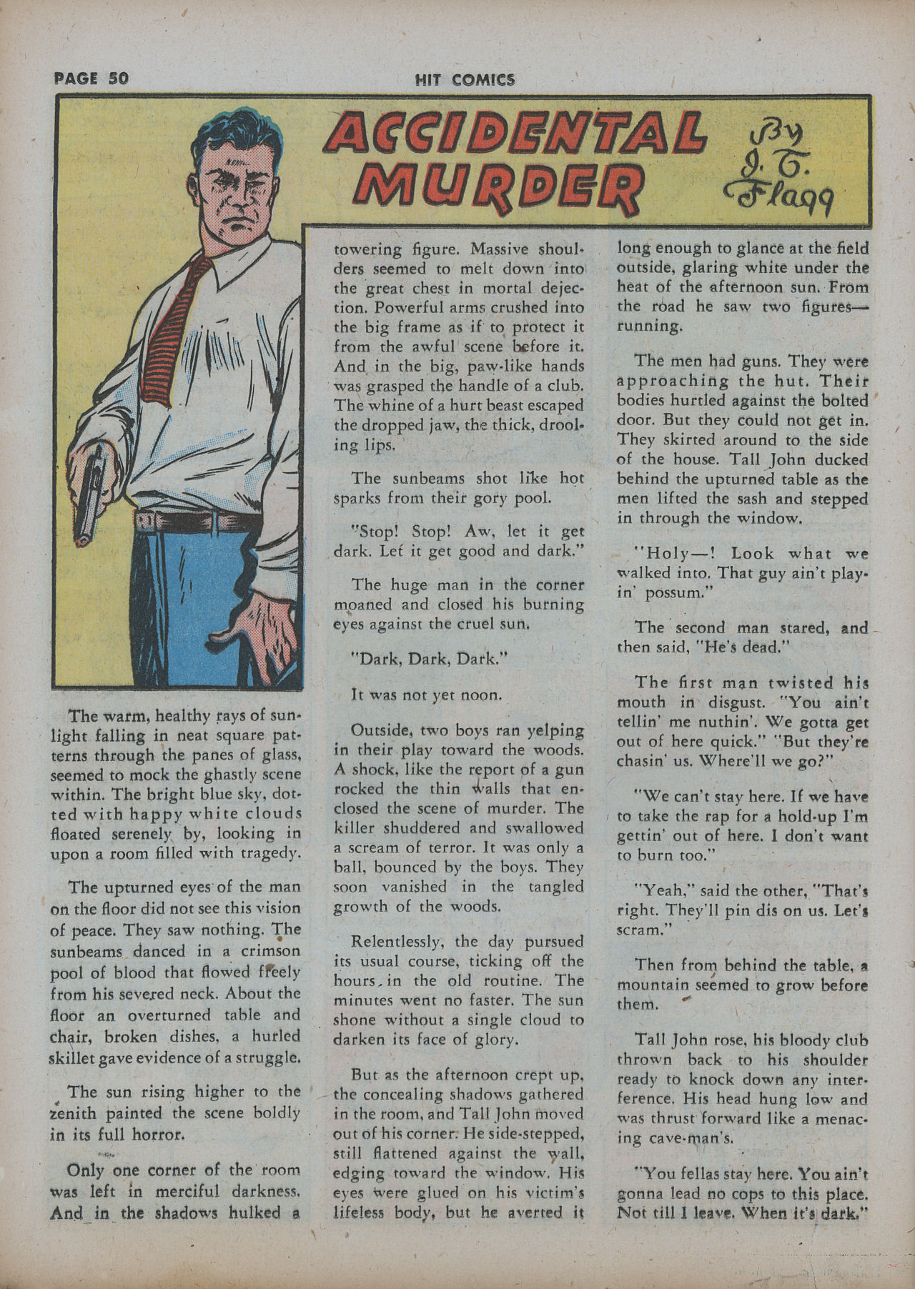 Read online Hit Comics comic -  Issue #22 - 52