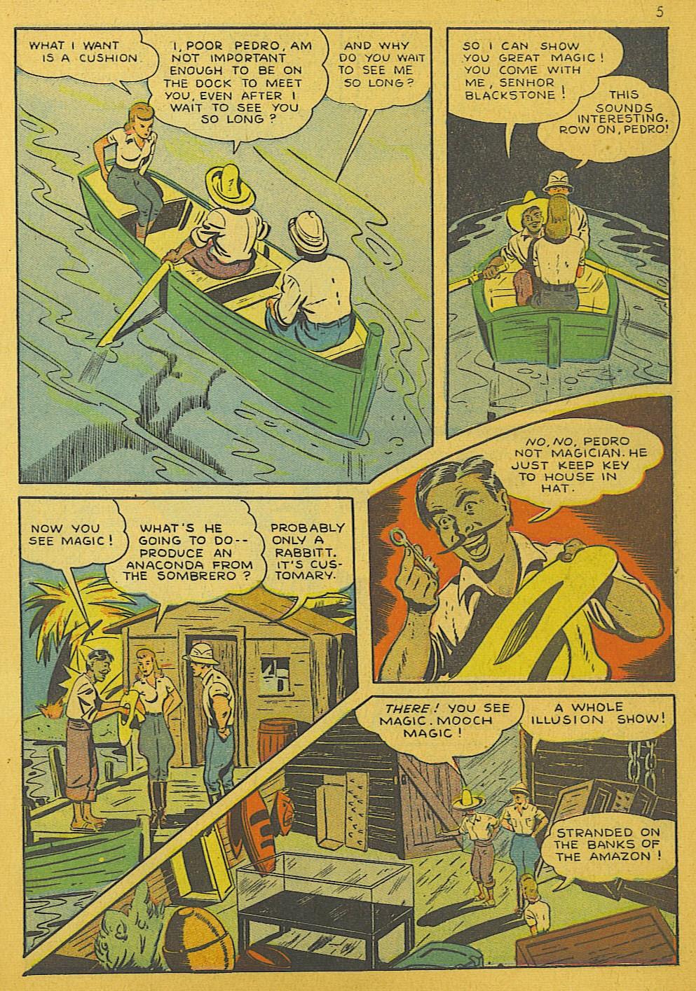 Read online Super-Magician Comics comic -  Issue #10 - 5